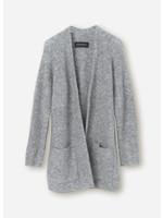 Malene Birger Belinta cardigan grey melange