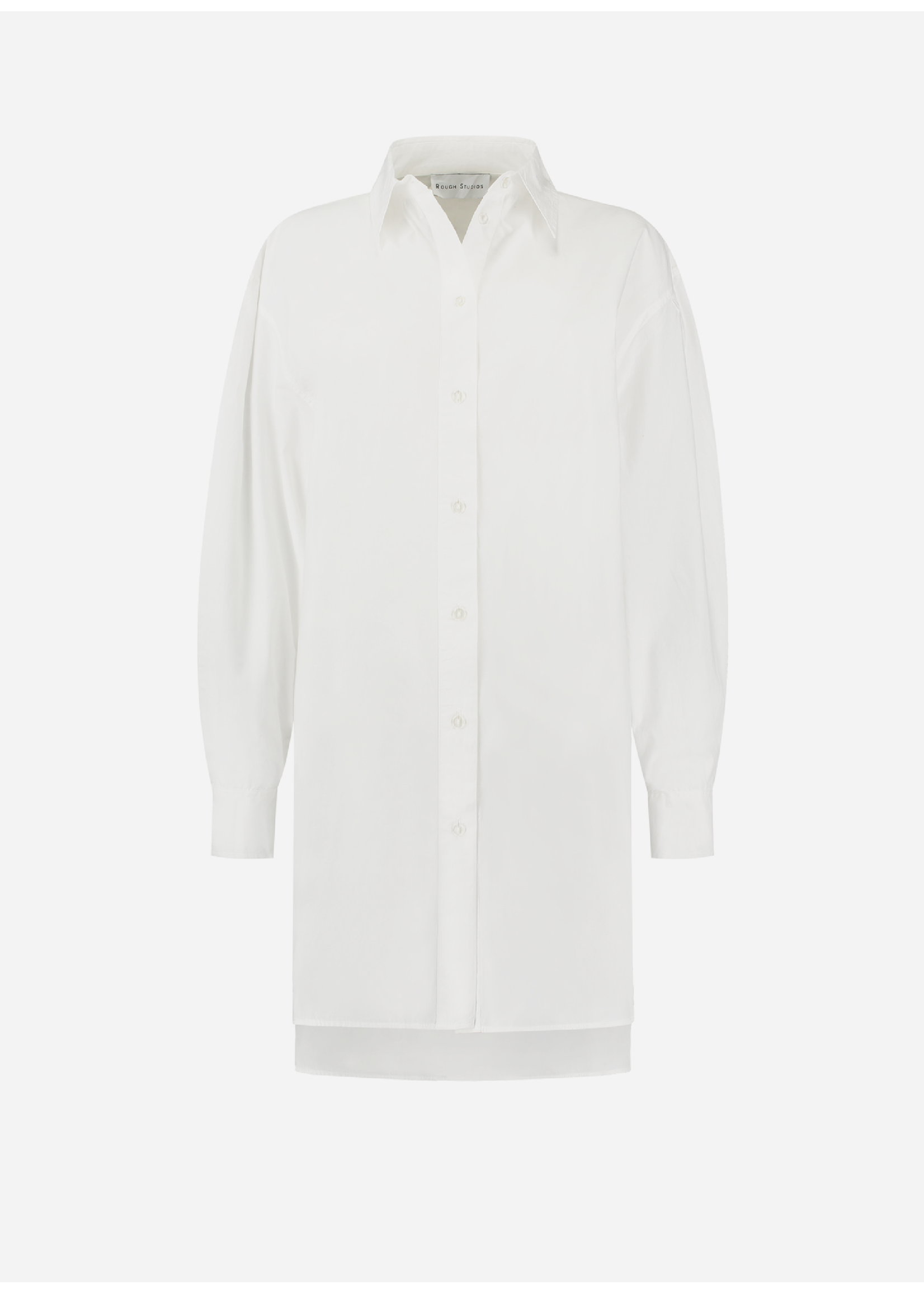 Rough Studios Alexis blouse dress white
