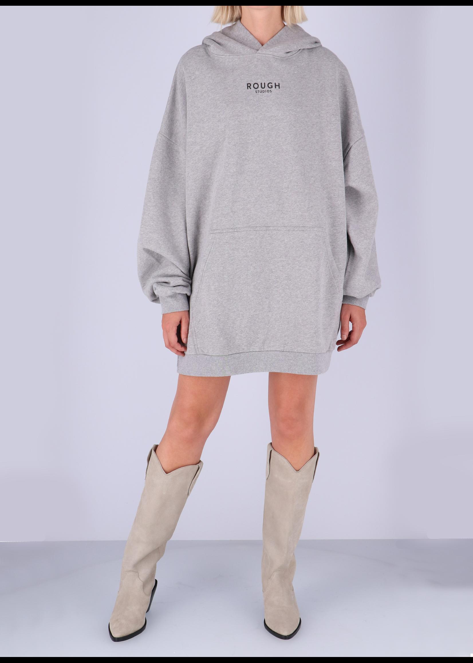 Rough Studios Sissel hoodie dress grey