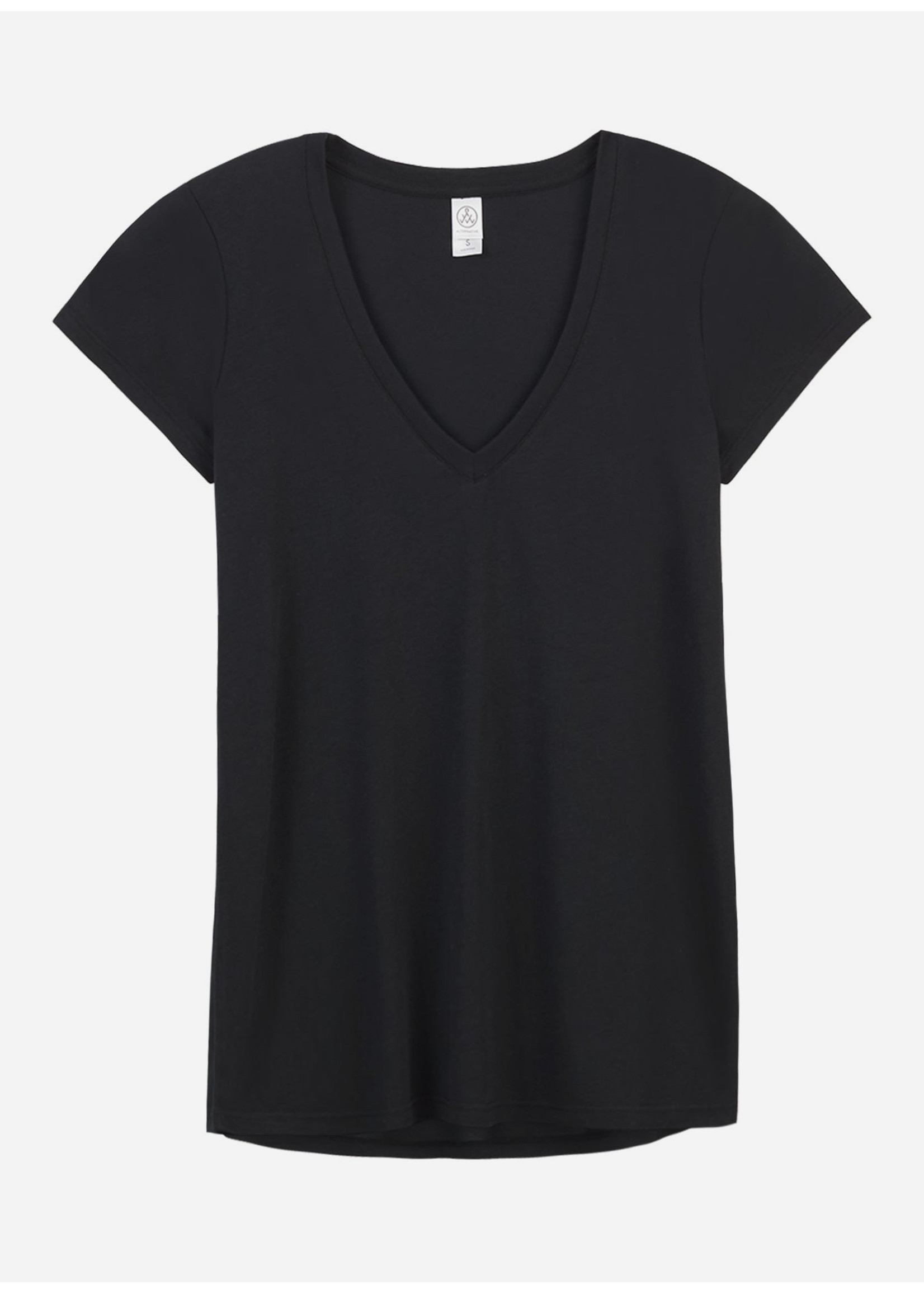 Alternative V-neck black