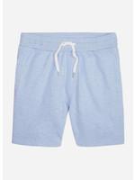 Wahts Troy sweatshorts with band light blue melange