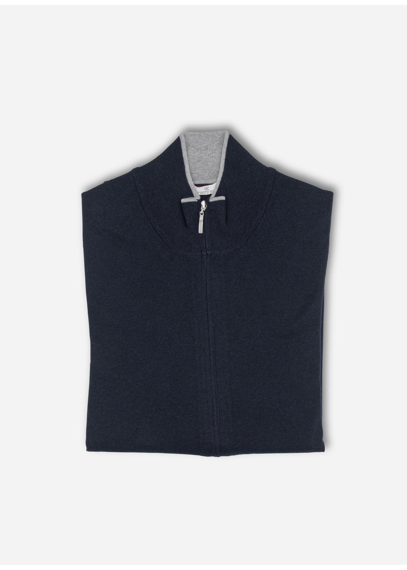 Ridiculous Classic Vest zip navy