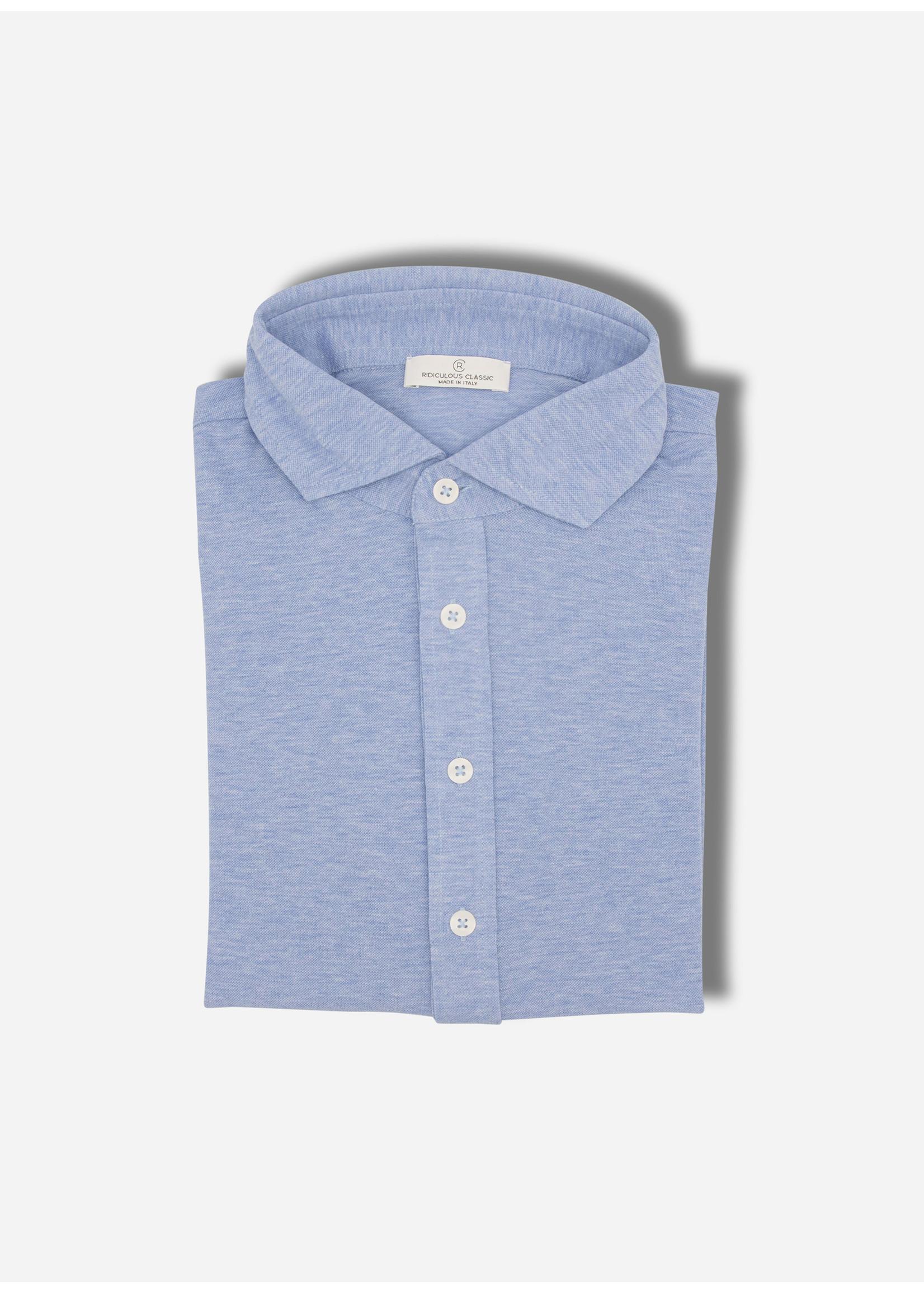 Ridiculous Classic Polo ls shirt blue