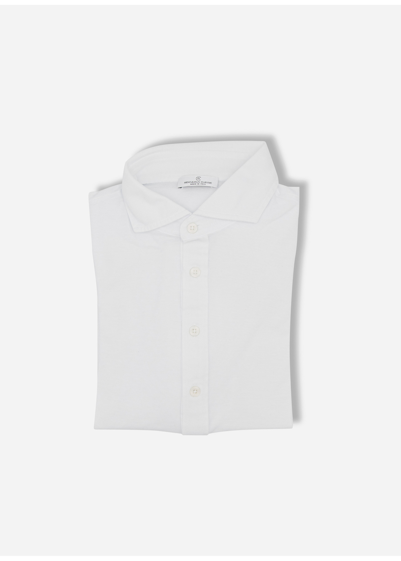 Ridiculous Classic Polo ls shirt white