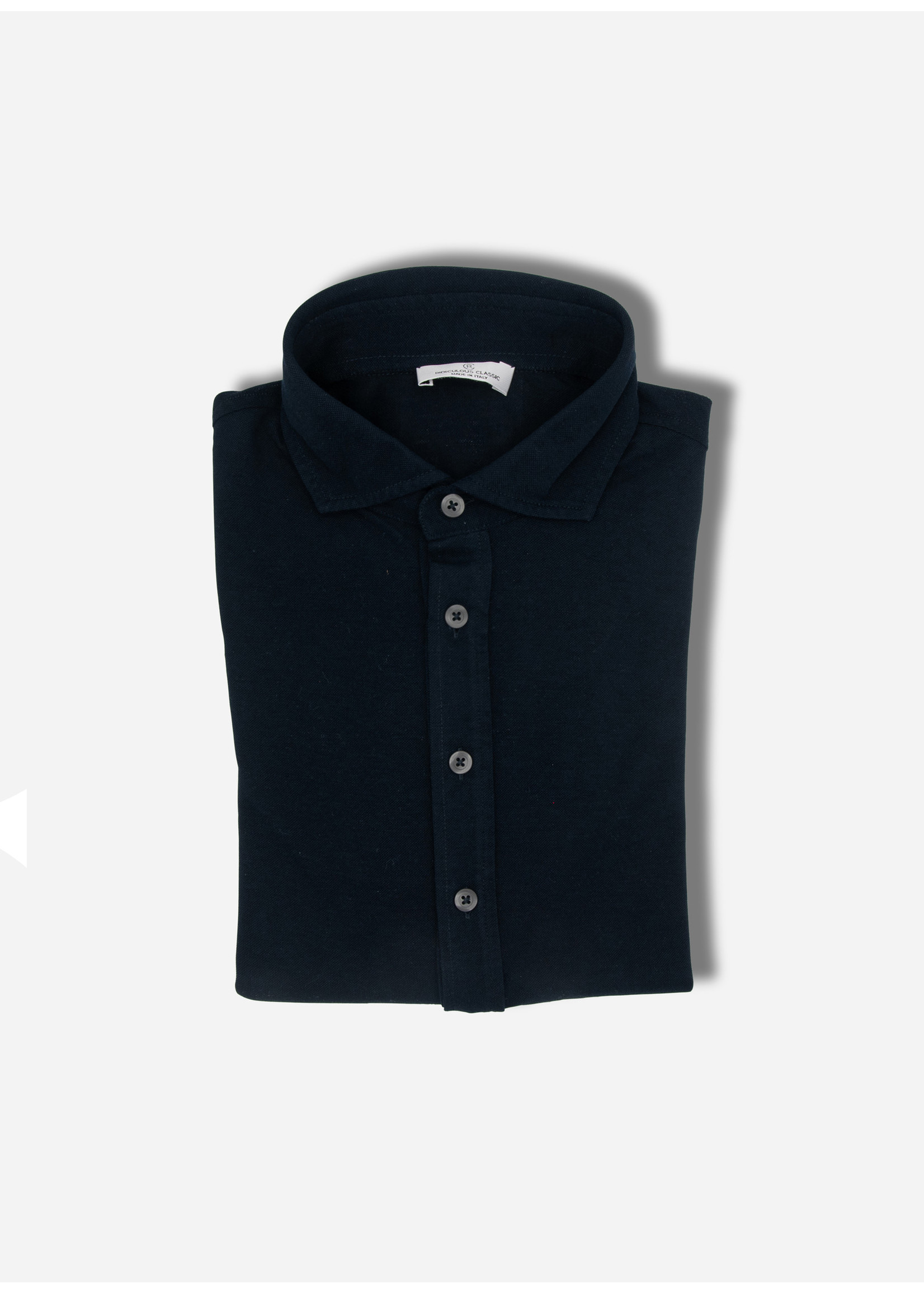 Ridiculous Classic Polo ls shirt navy