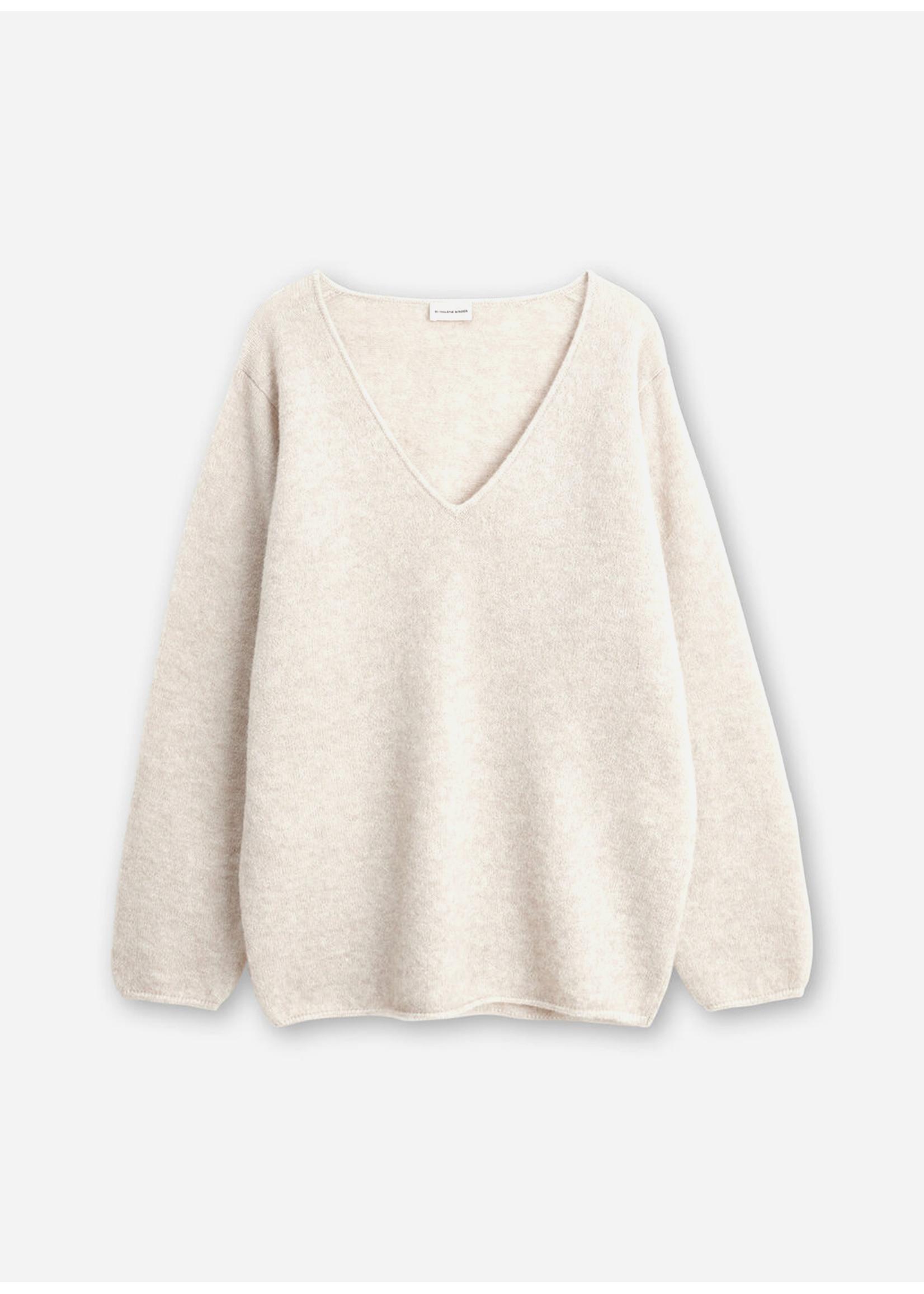 Malene Birger Rhila knitwear beige melange