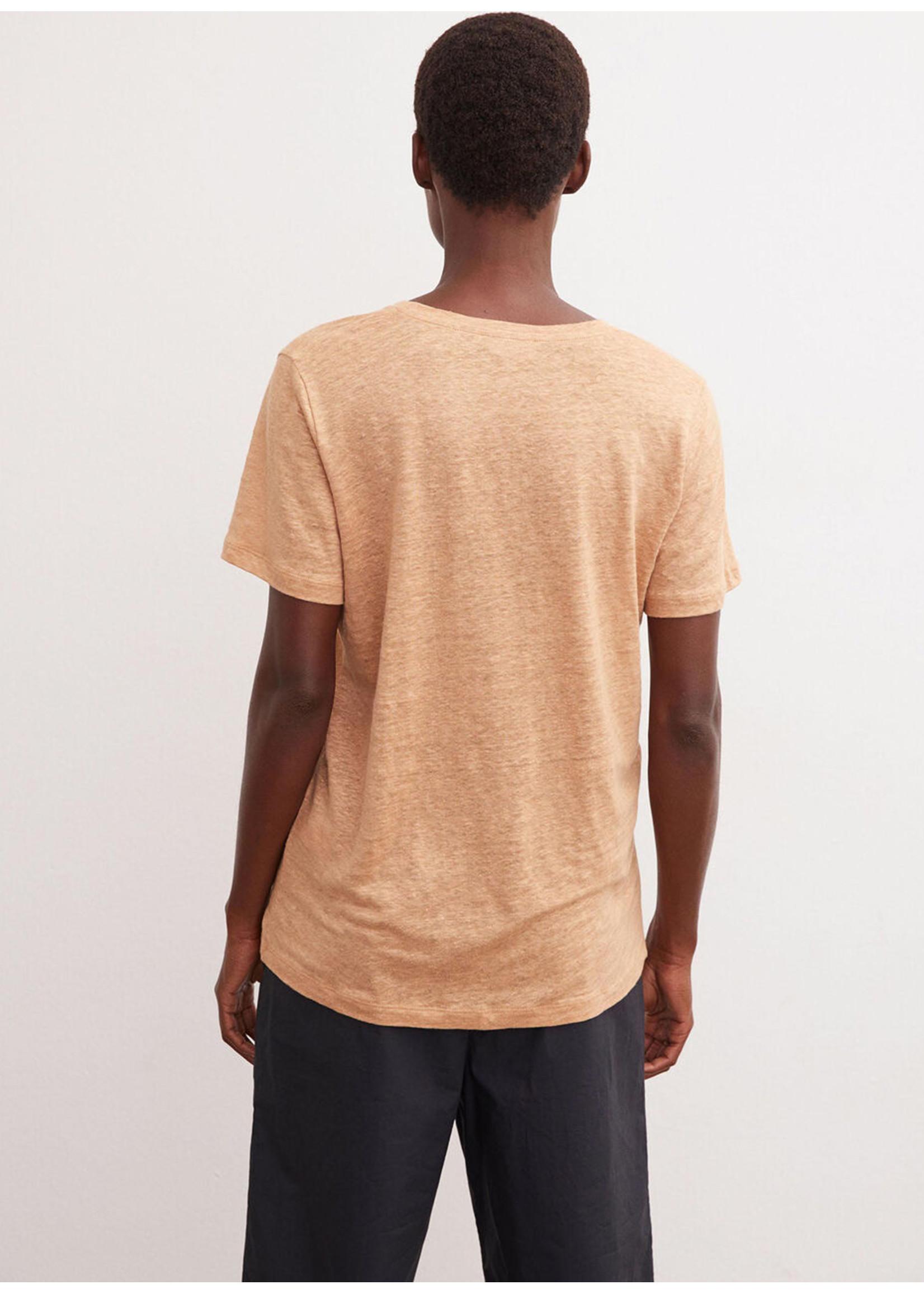 Malene Birger Zooey tshirt tan