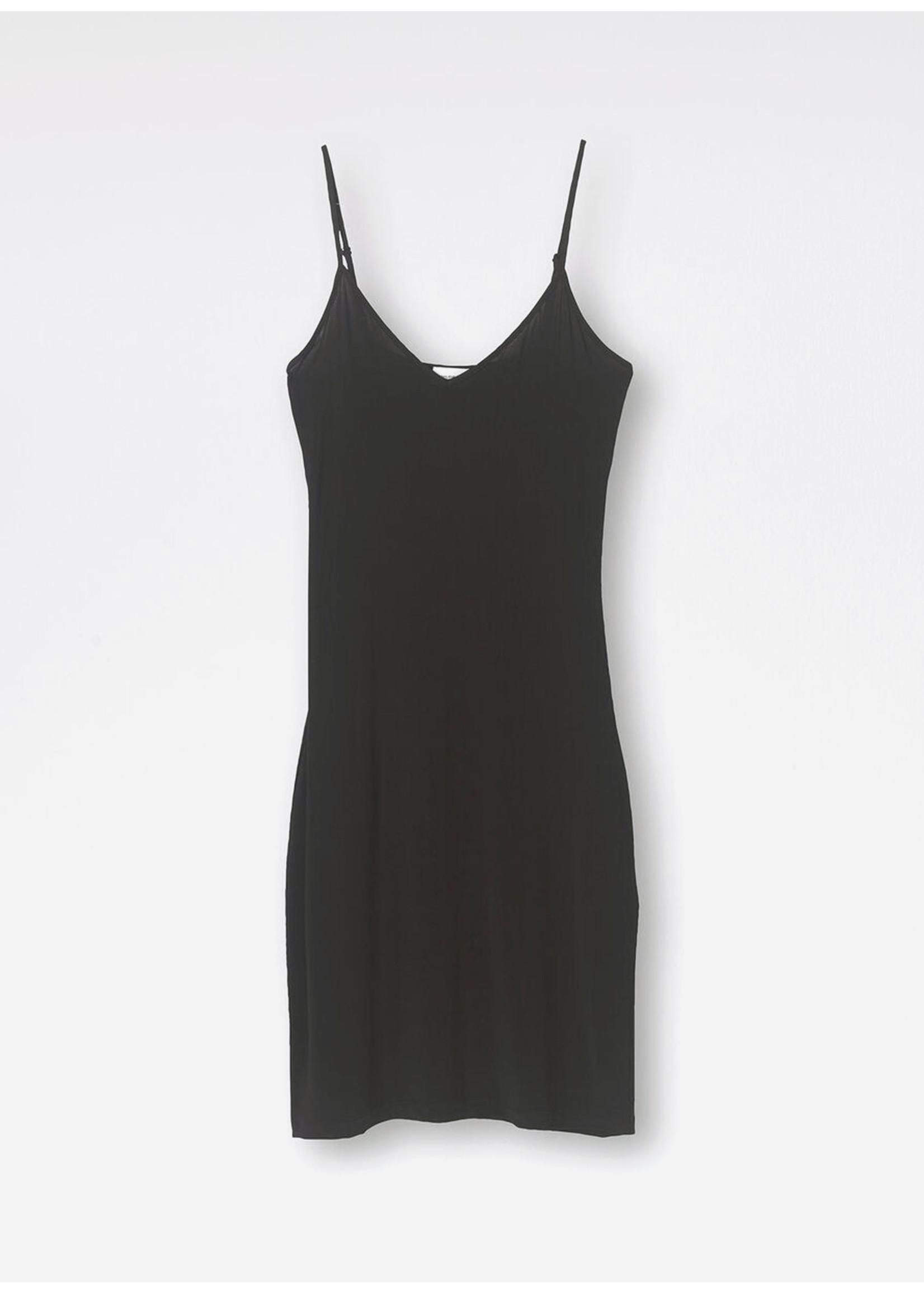 Malene Birger Camille slip dress black
