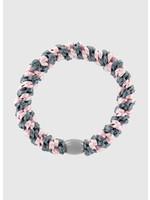 Kknekki by Bon Dep Grey blue pink stripe
