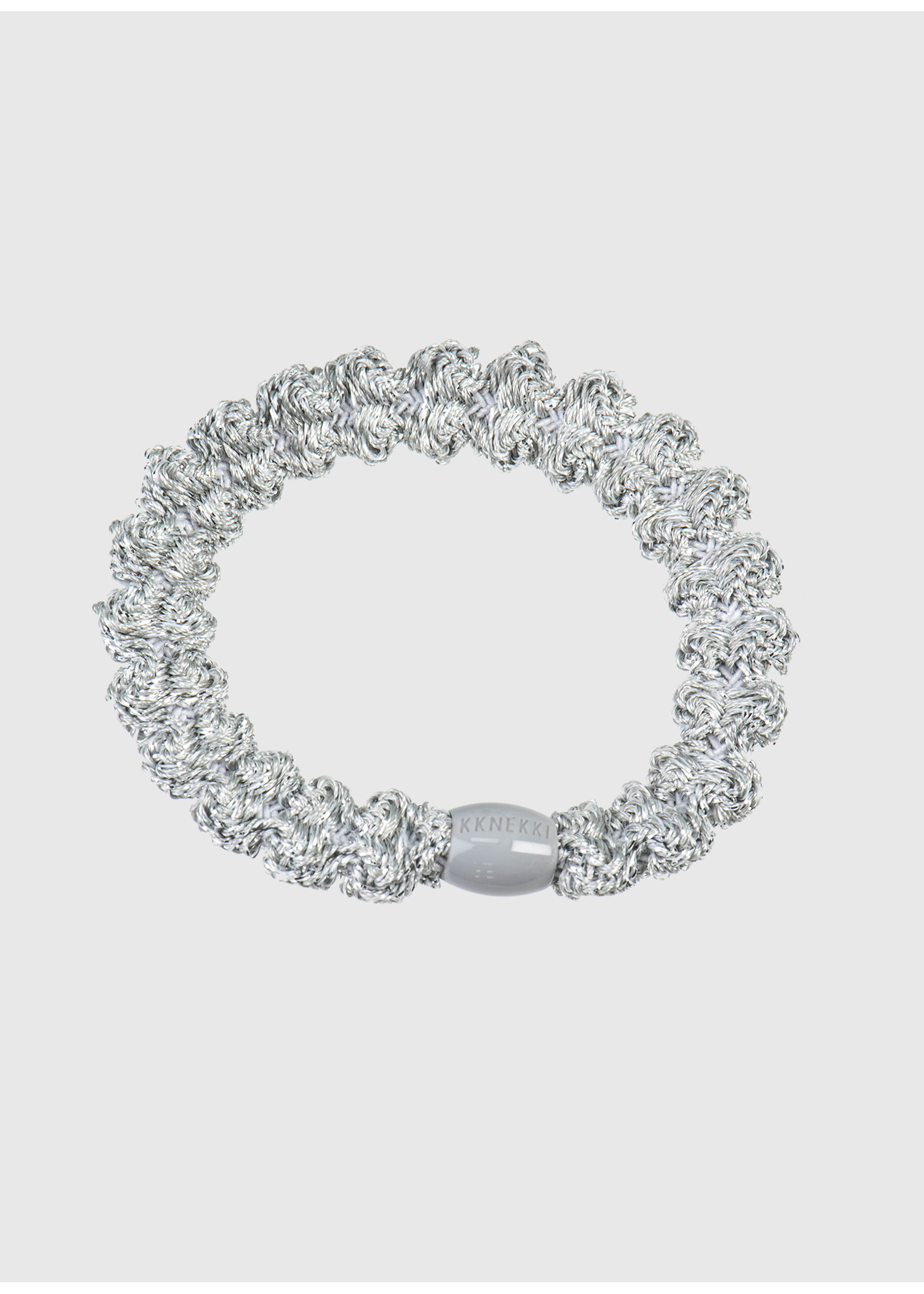 Kknekki by Bon Dep Lace silver glitter