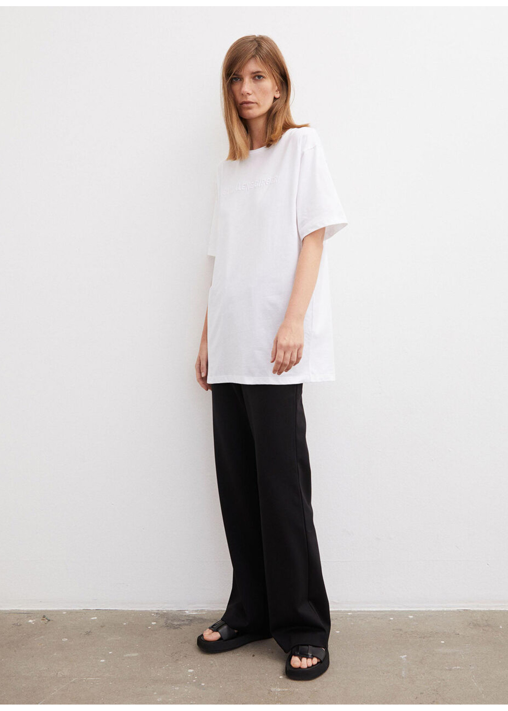Malene Birger Fayeh tshirt pure white