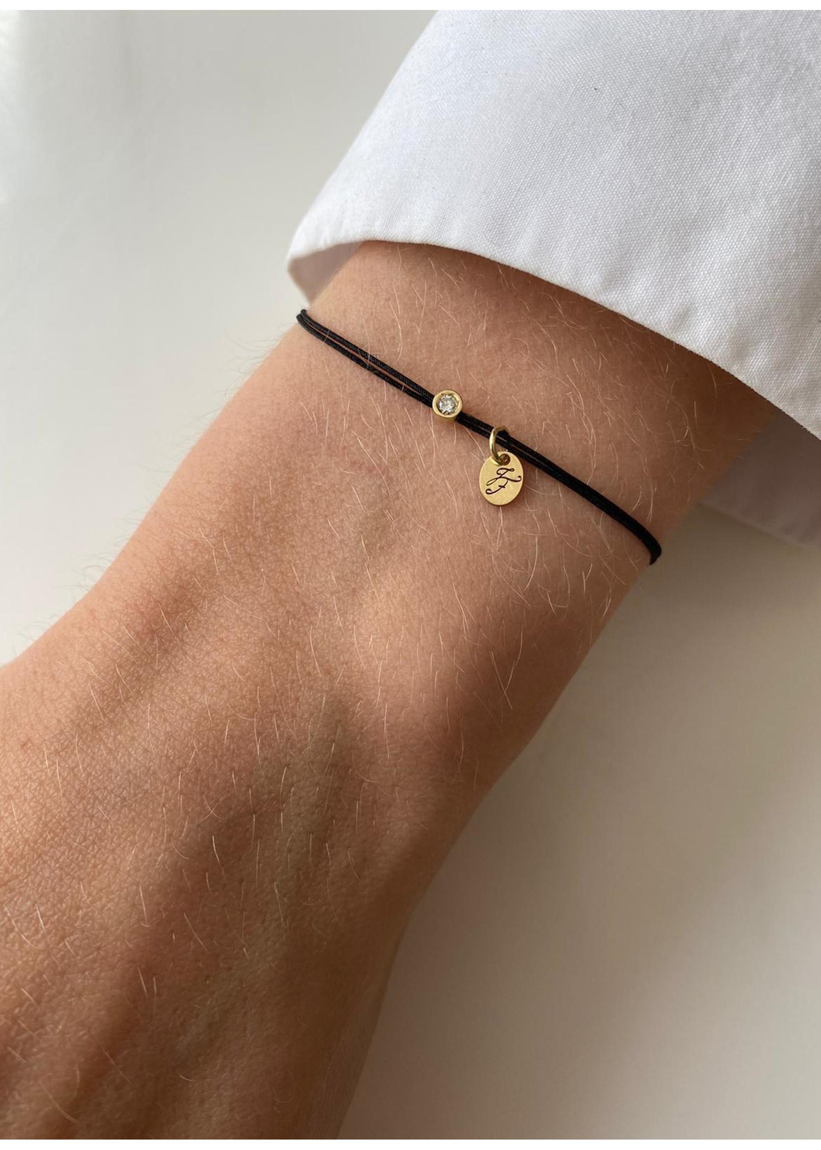Just Franky Capital diamond bracelet 0,03 crt