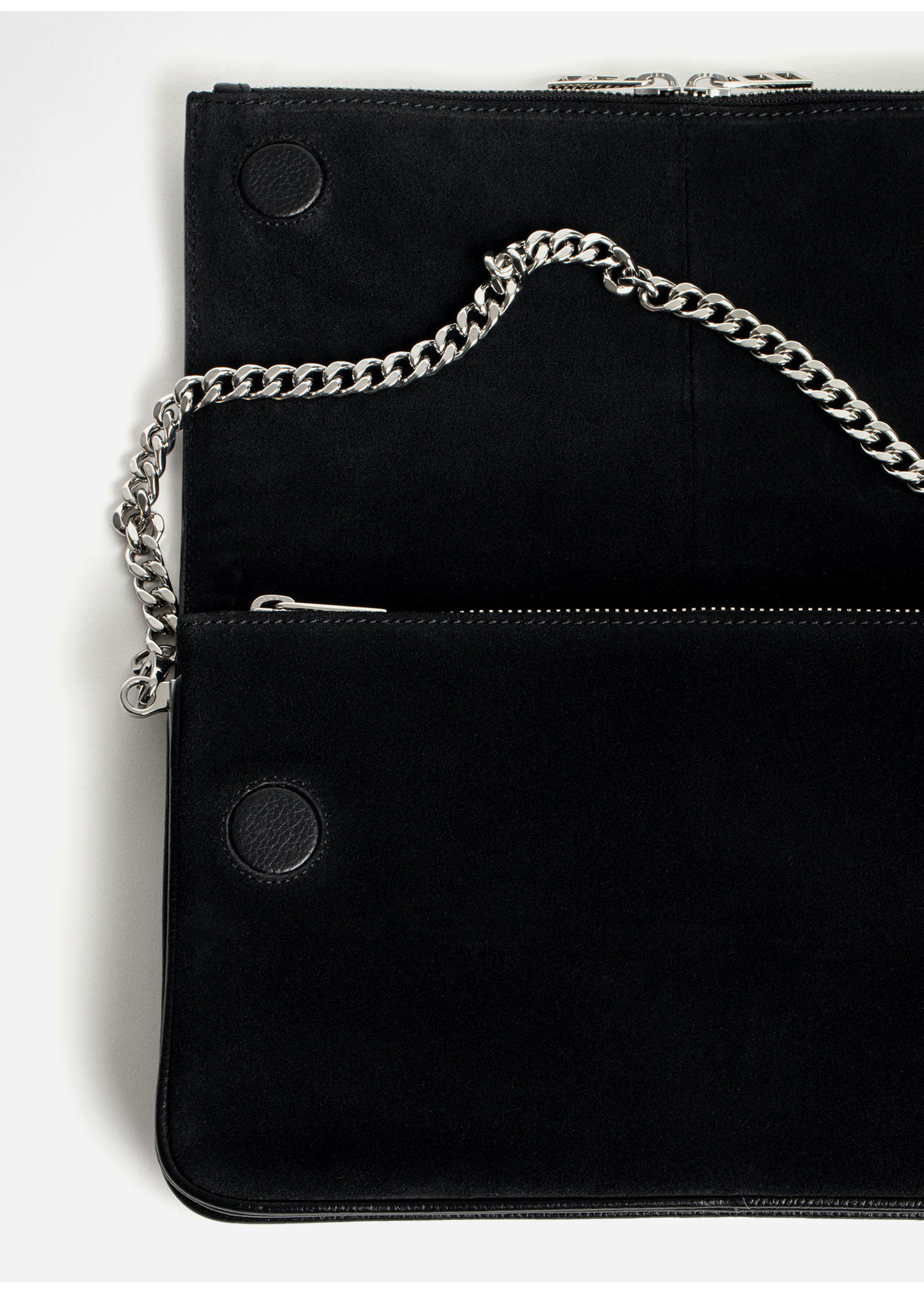 Zadig & Voltaire Rock Novel Grained Leather Fight