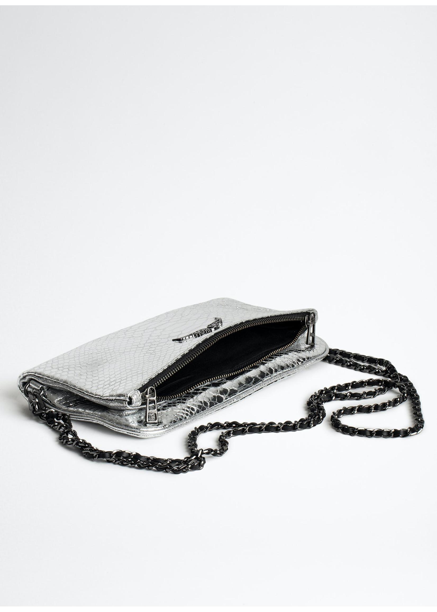 Zadig & Voltaire Rock metallic silver