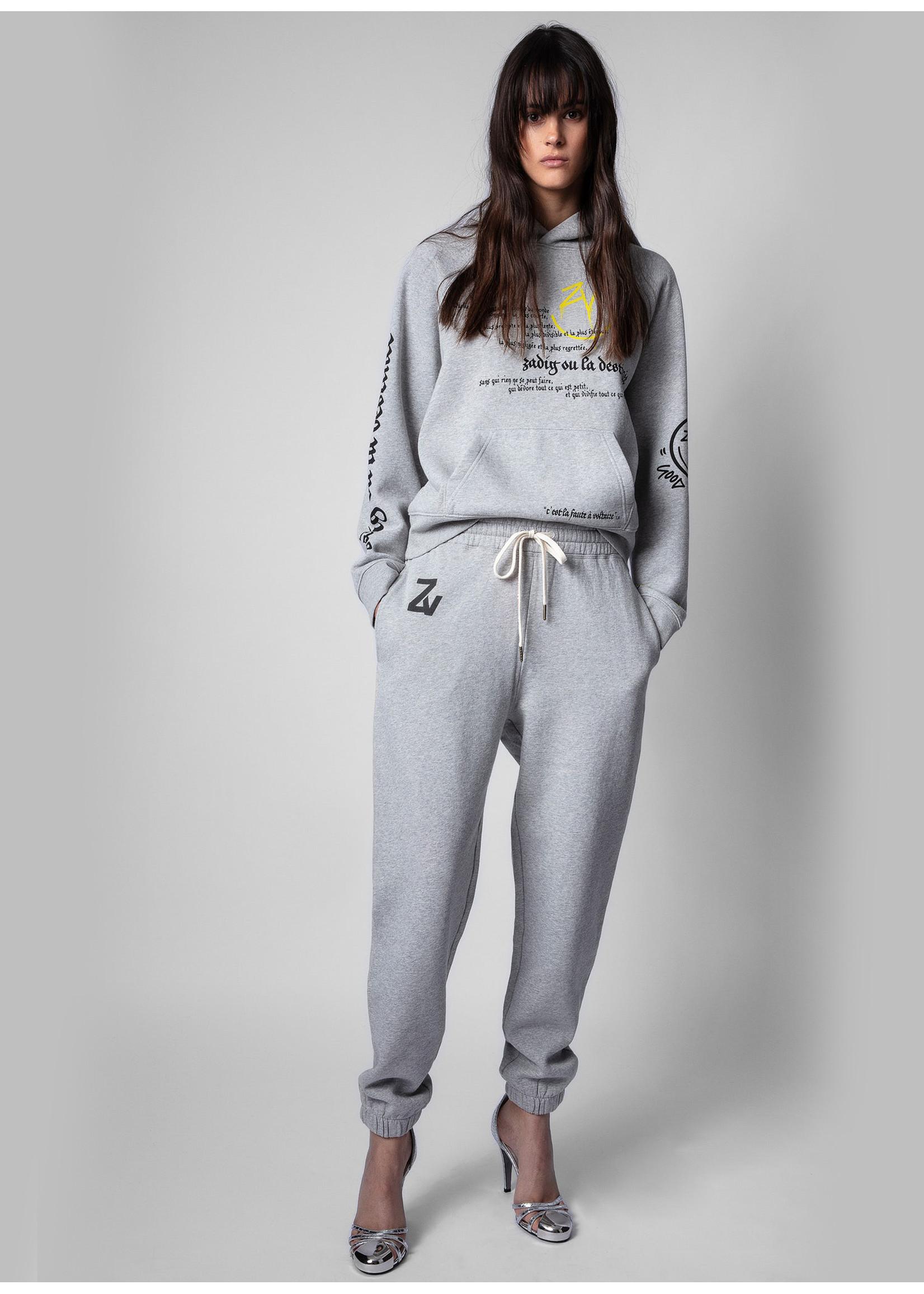 Zadig & Voltaire Steevy Trackpants grey