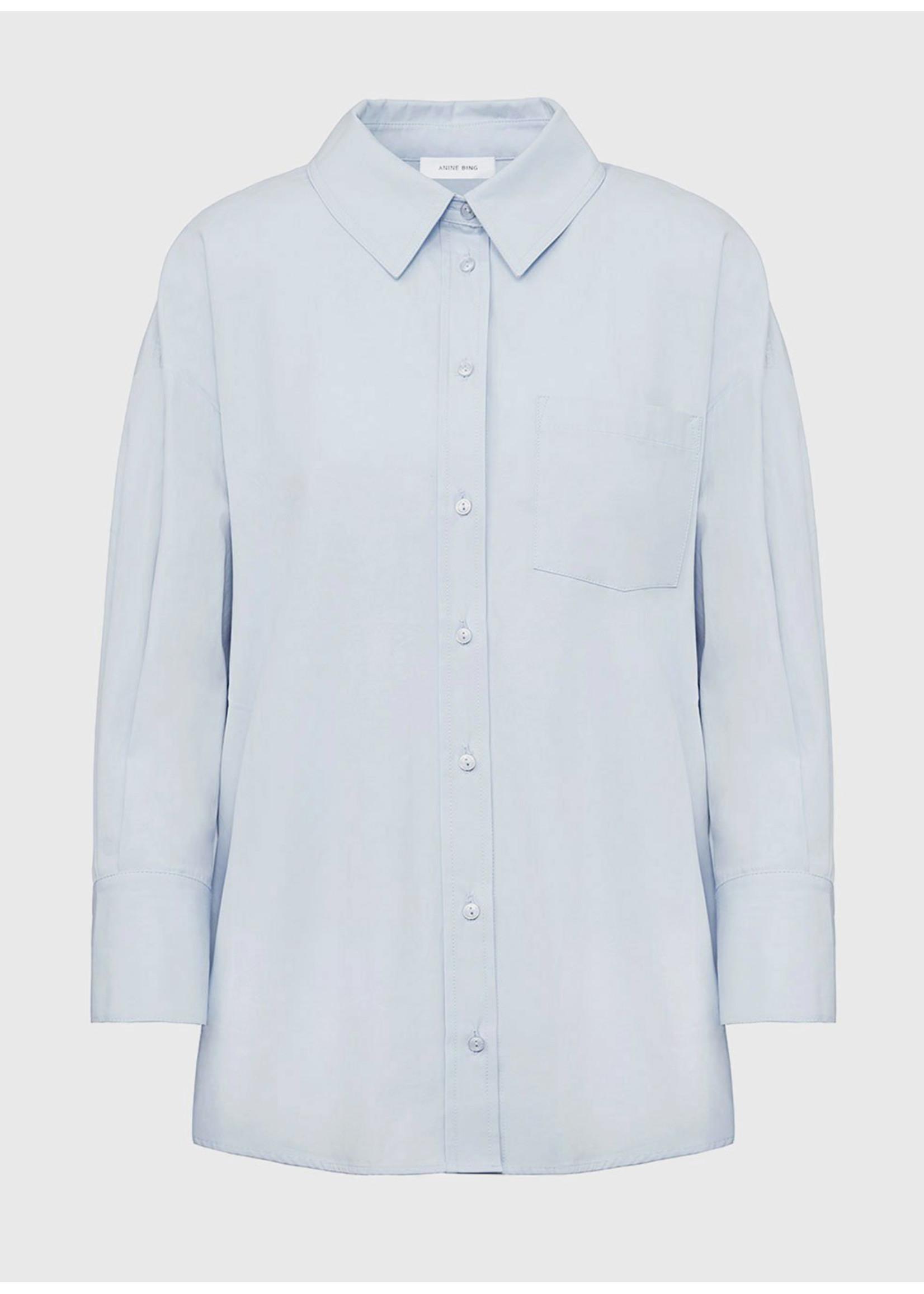 Anine Bing Mika Shirt Blue