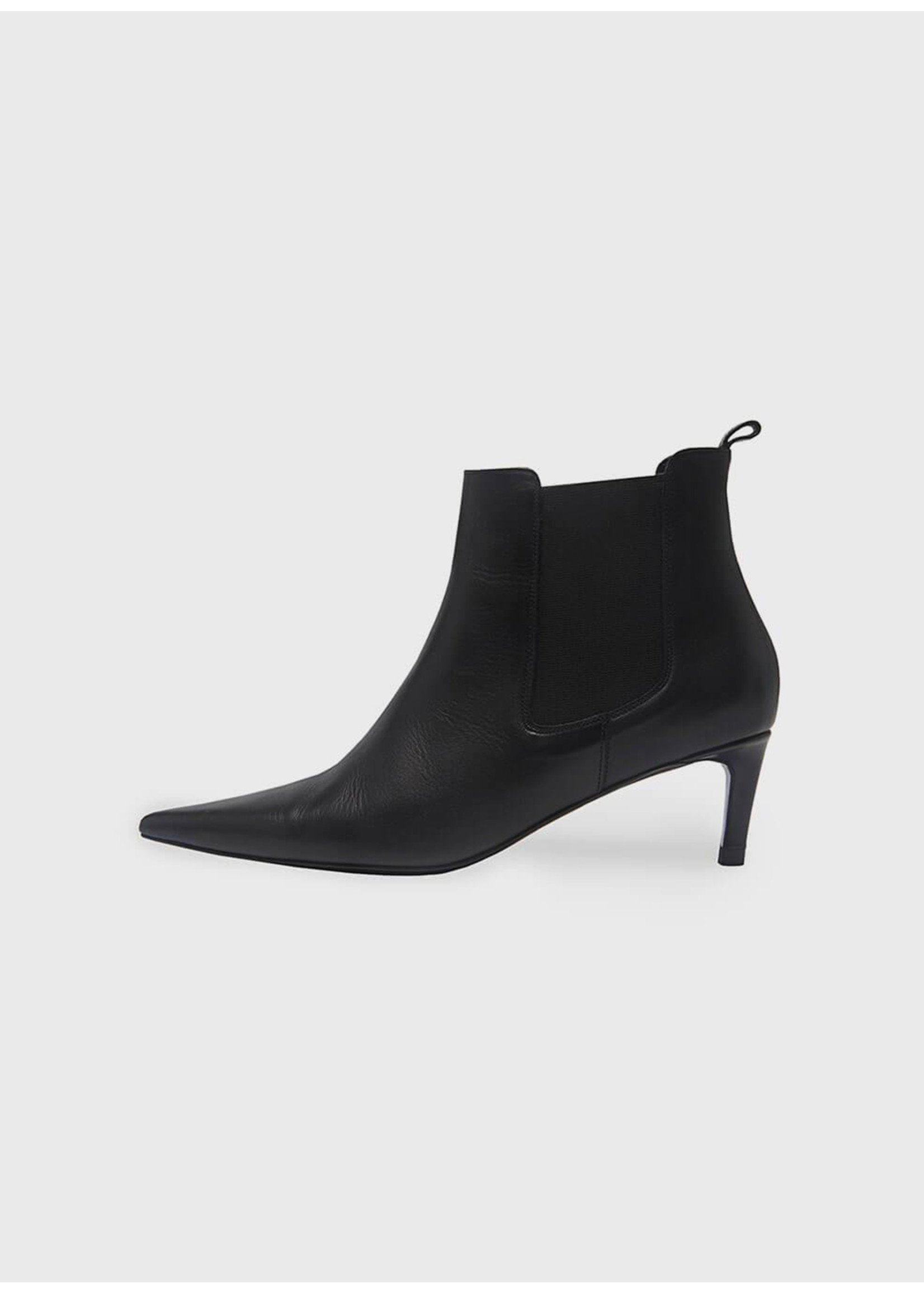 Anine Bing Stevie Boots Black Leather