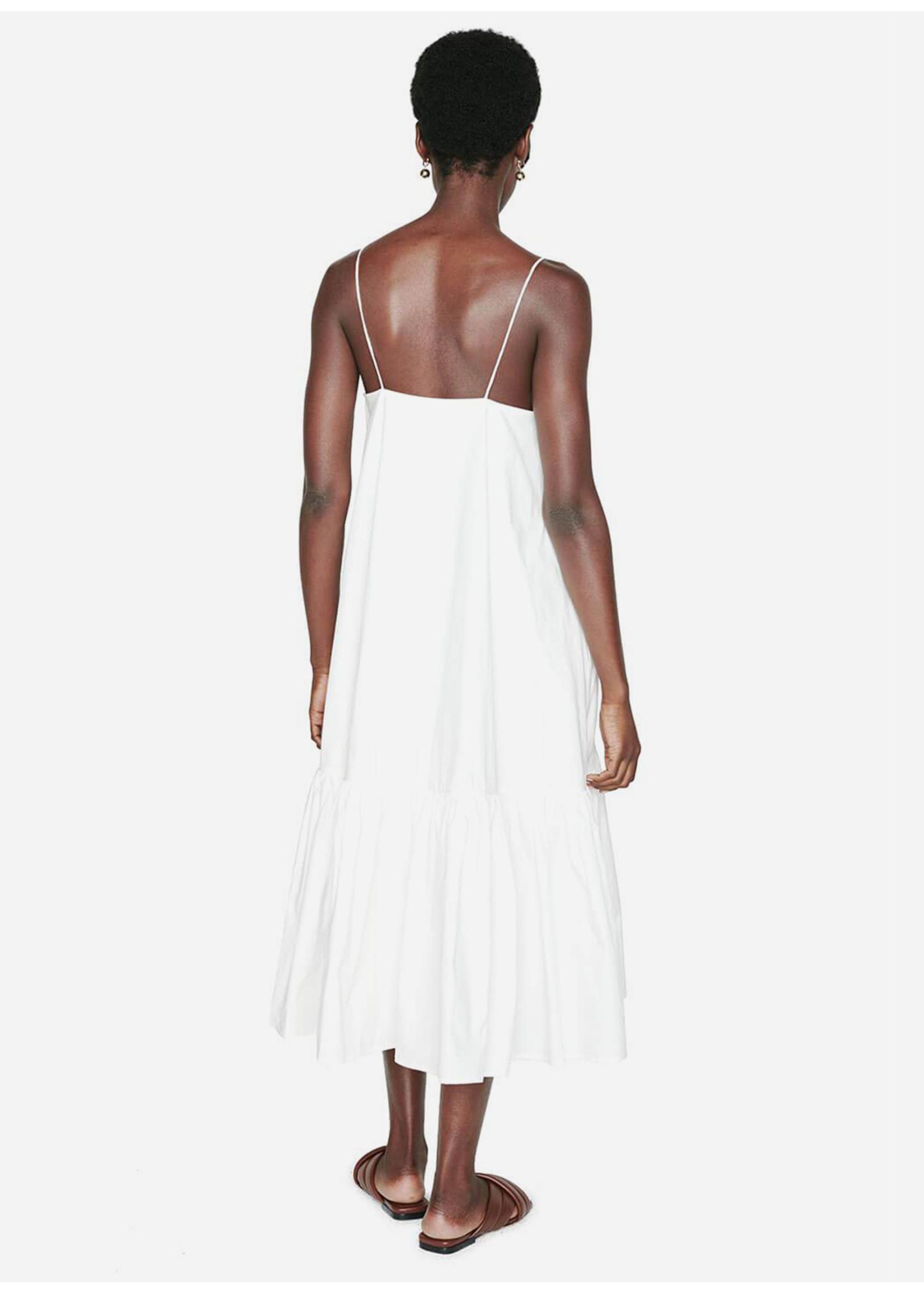 Anine Bing Averie Dress White
