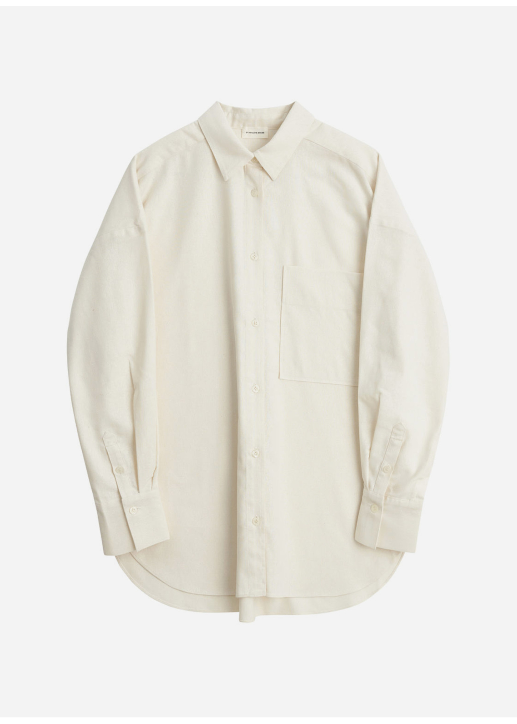 Malene Birger Derris Shirt Soft White