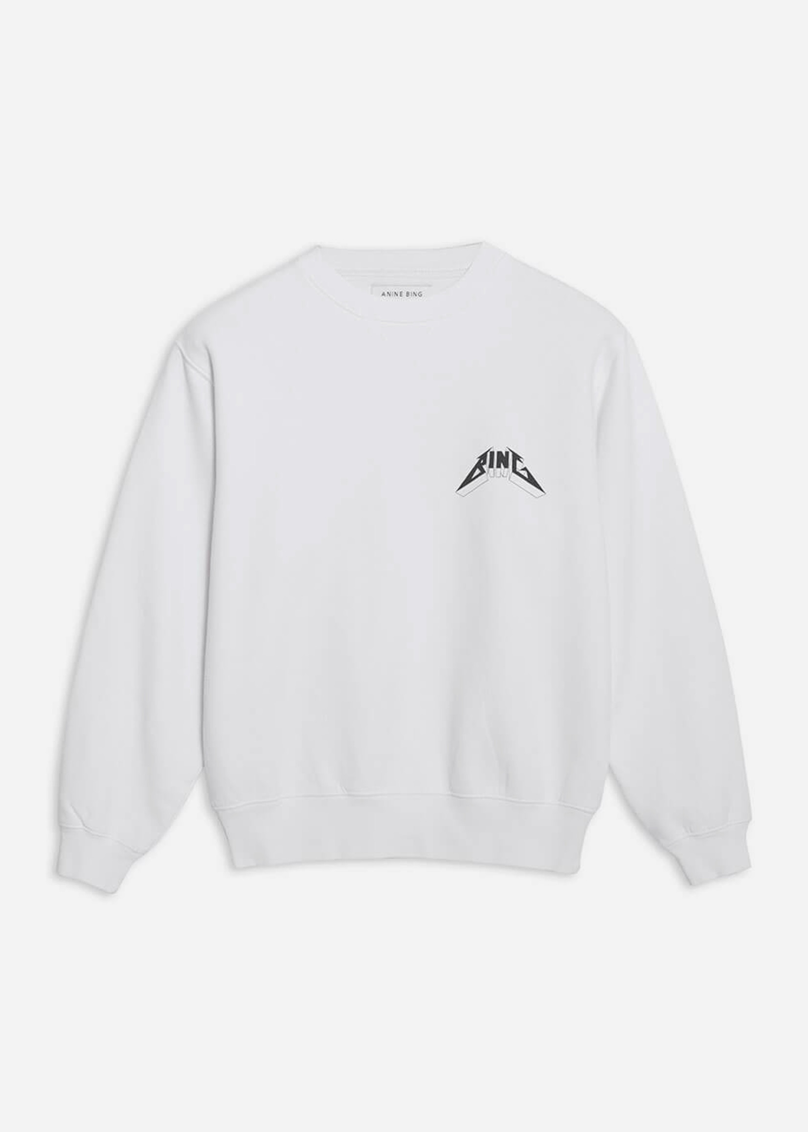 Anine Bing Ramona Sweatshirt Tour White