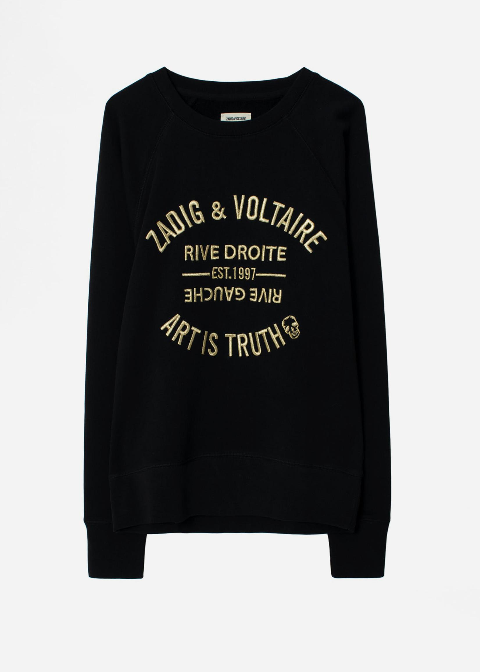 Zadig & Voltaire Upper Blason Black