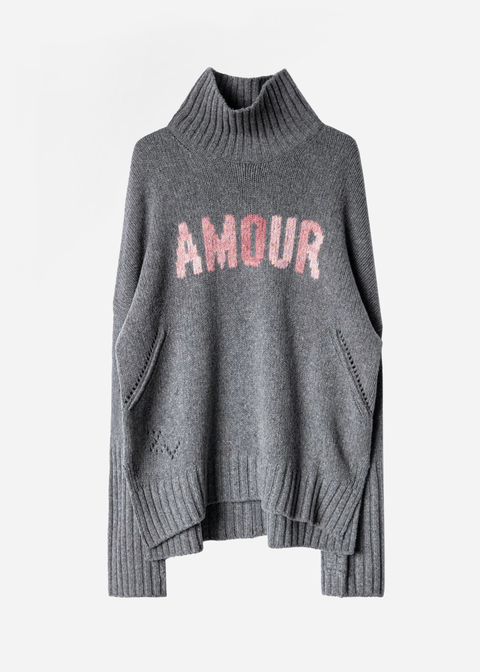 Zadig & Voltaire Alma Amour Grey