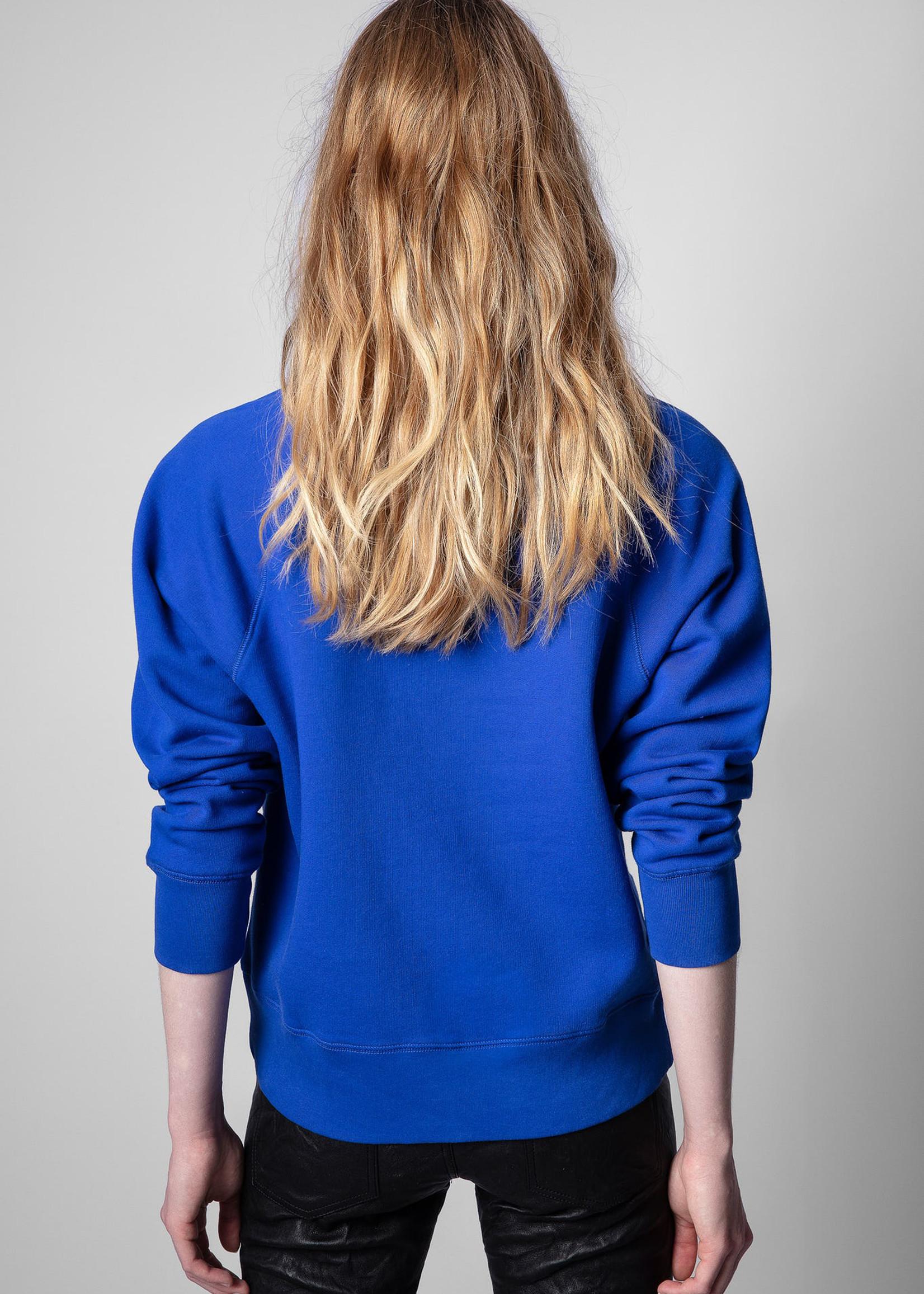Zadig & Voltaire Upper Blason Royal Blue