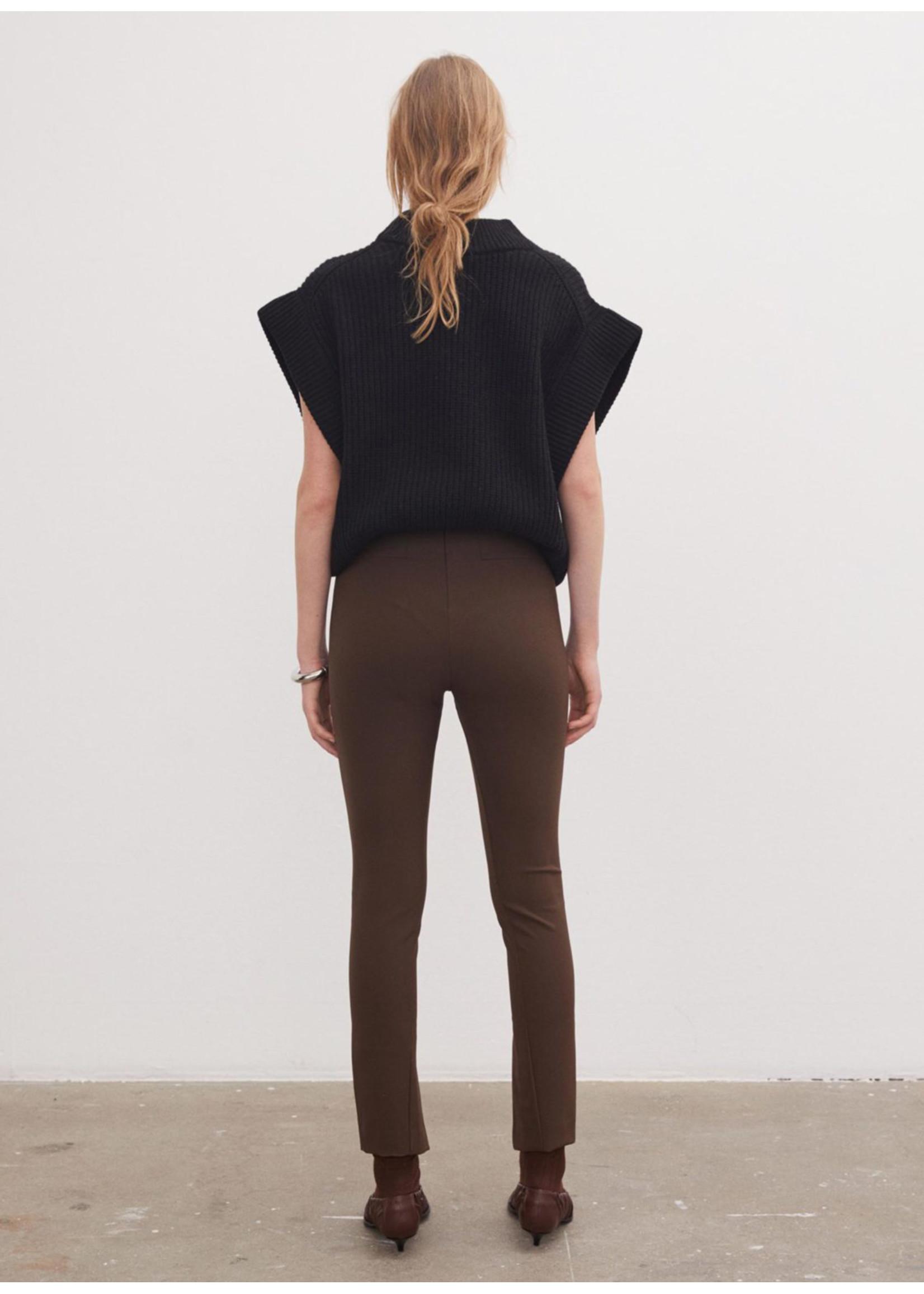 Malene Birger Adanis pants dark mahogany