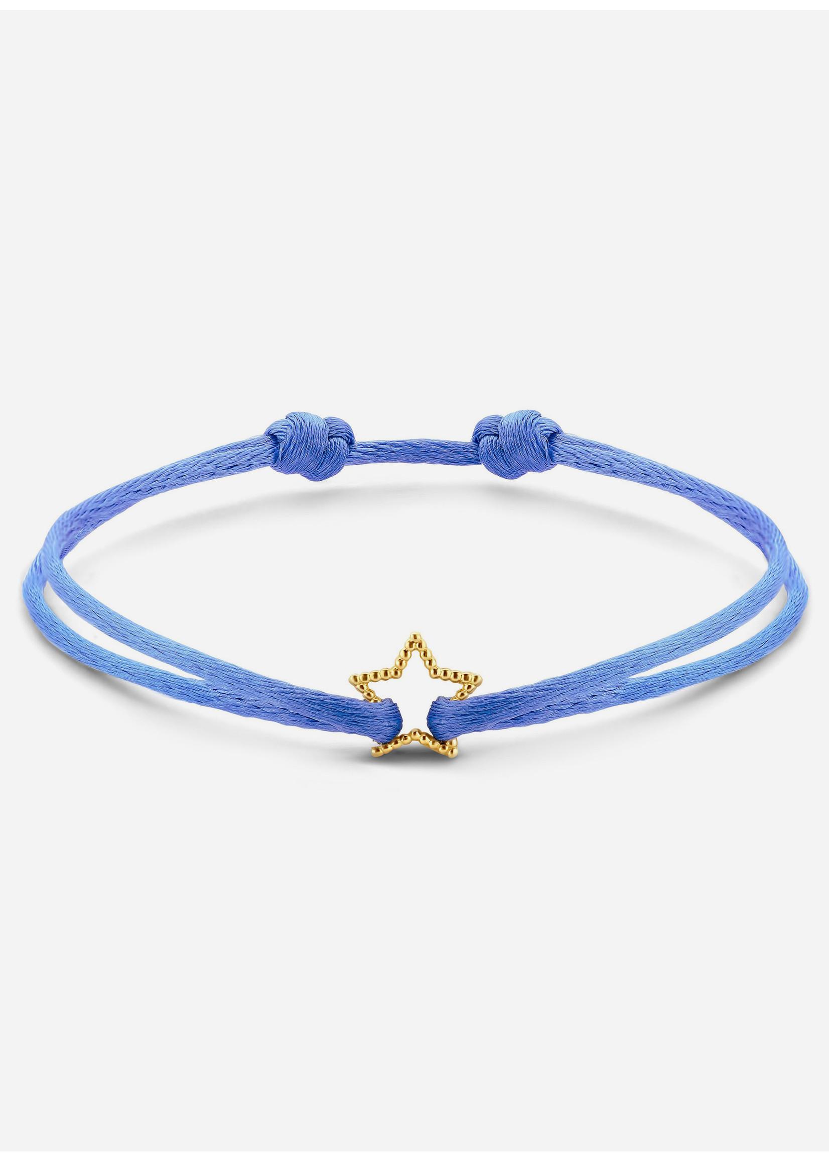 Just Franky Vintage bracelet star cord