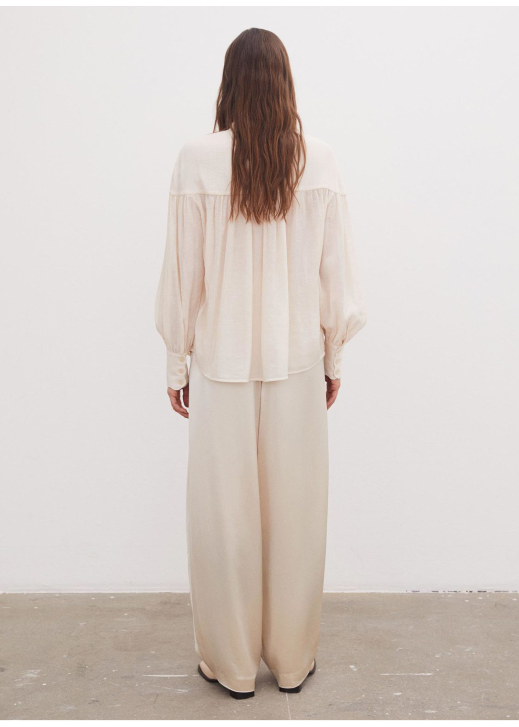 Malene Birger Reibena Shirts Cream