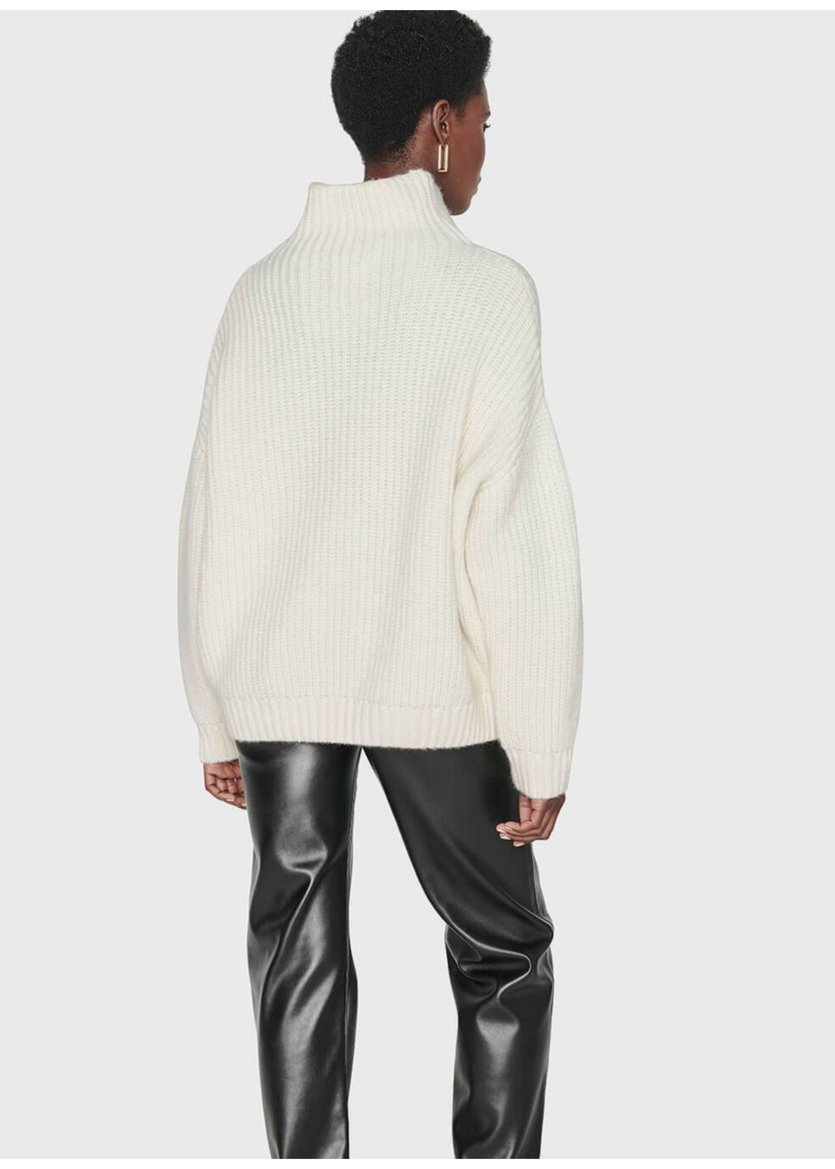 Anine Bing Sydney Sweater Cream