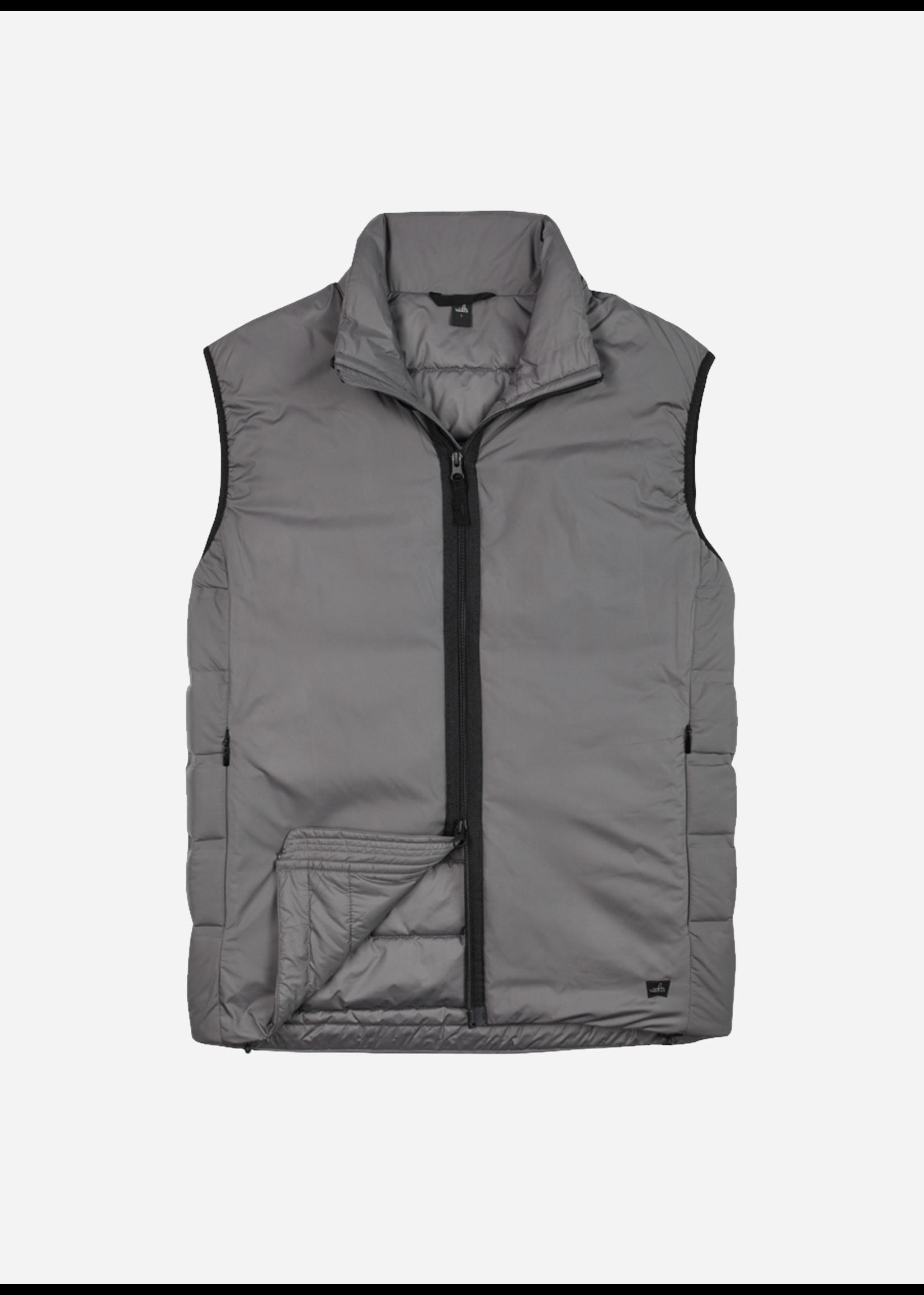 Wahts Hedley Commuter Vest Mid Grey