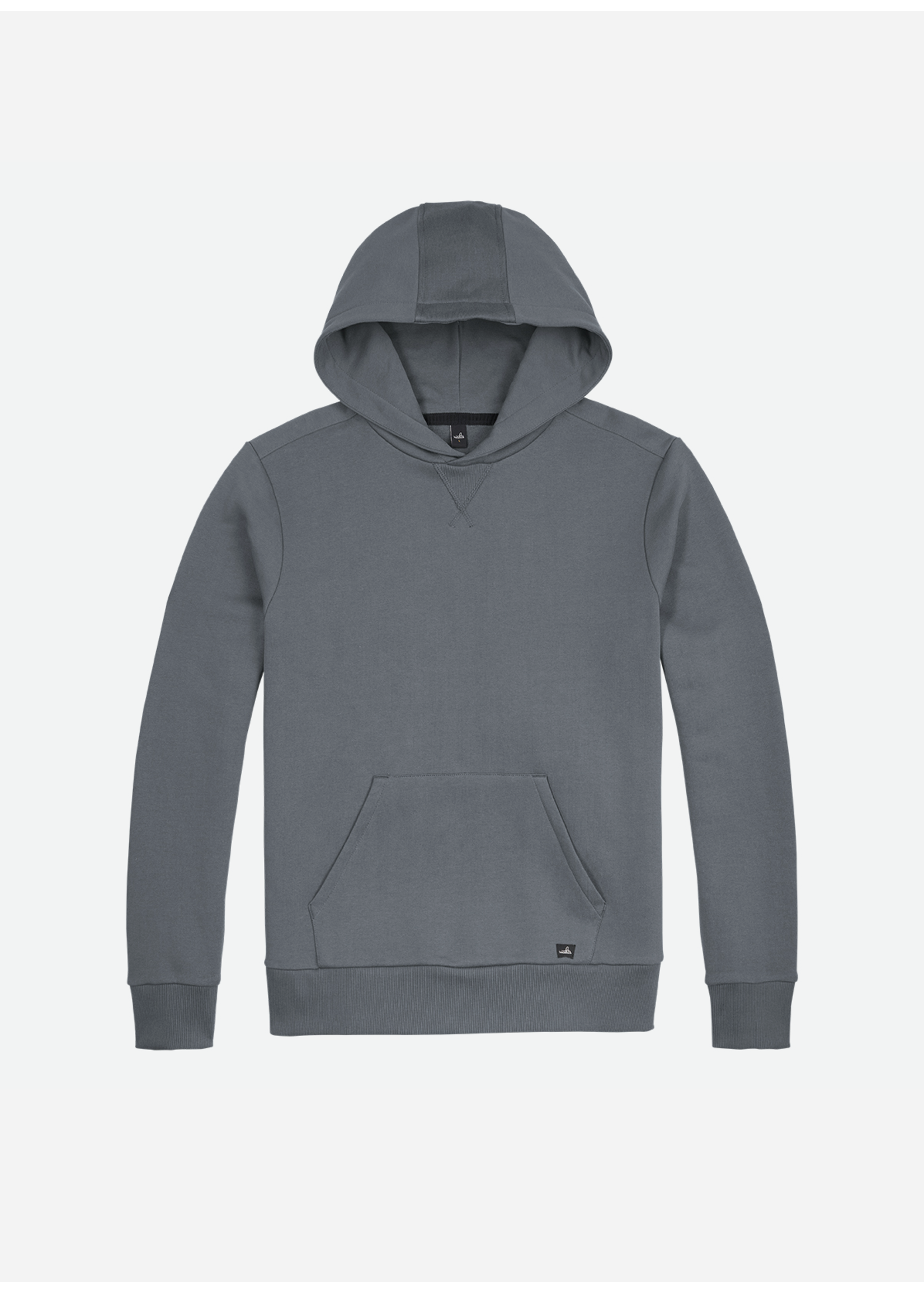 Wahts Vance hooded sweater mid grey