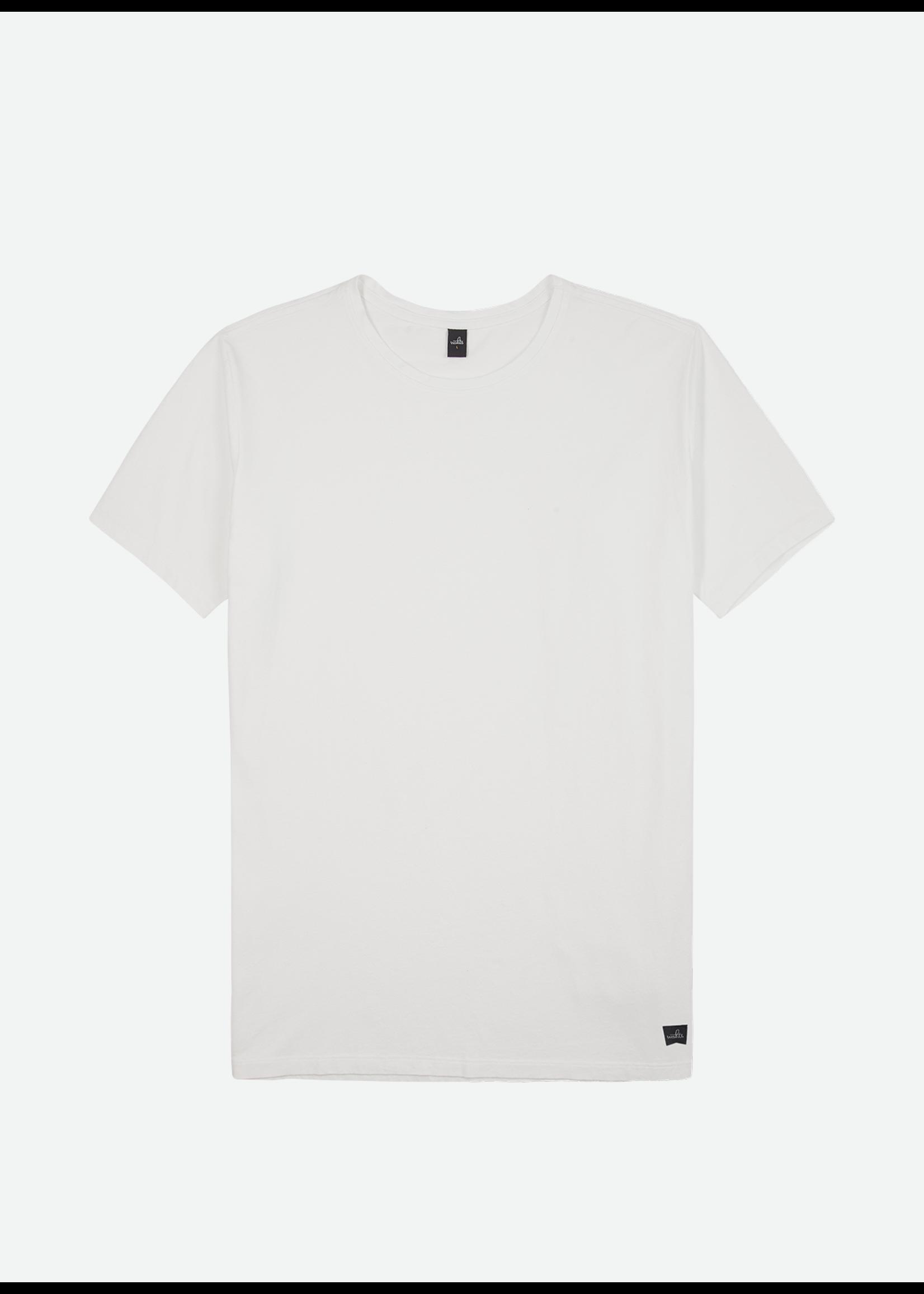 Wahts Woods crewneck tshirt off white