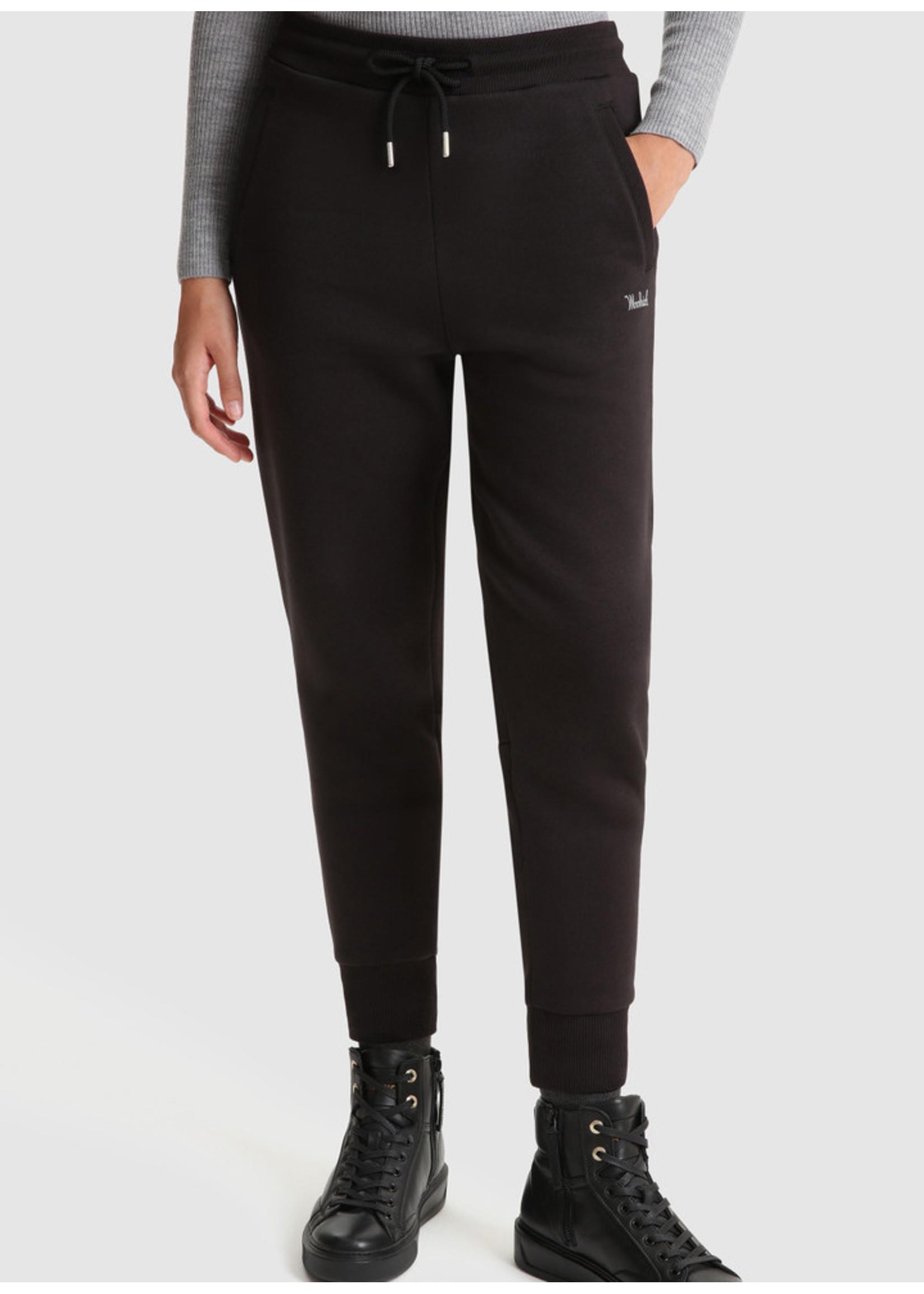 Woolrich Fleece Sweatpant Black
