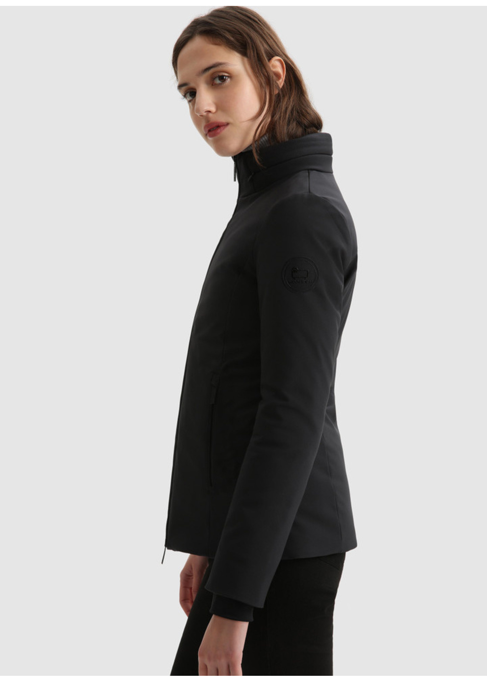 Woolrich Firth Coat Black