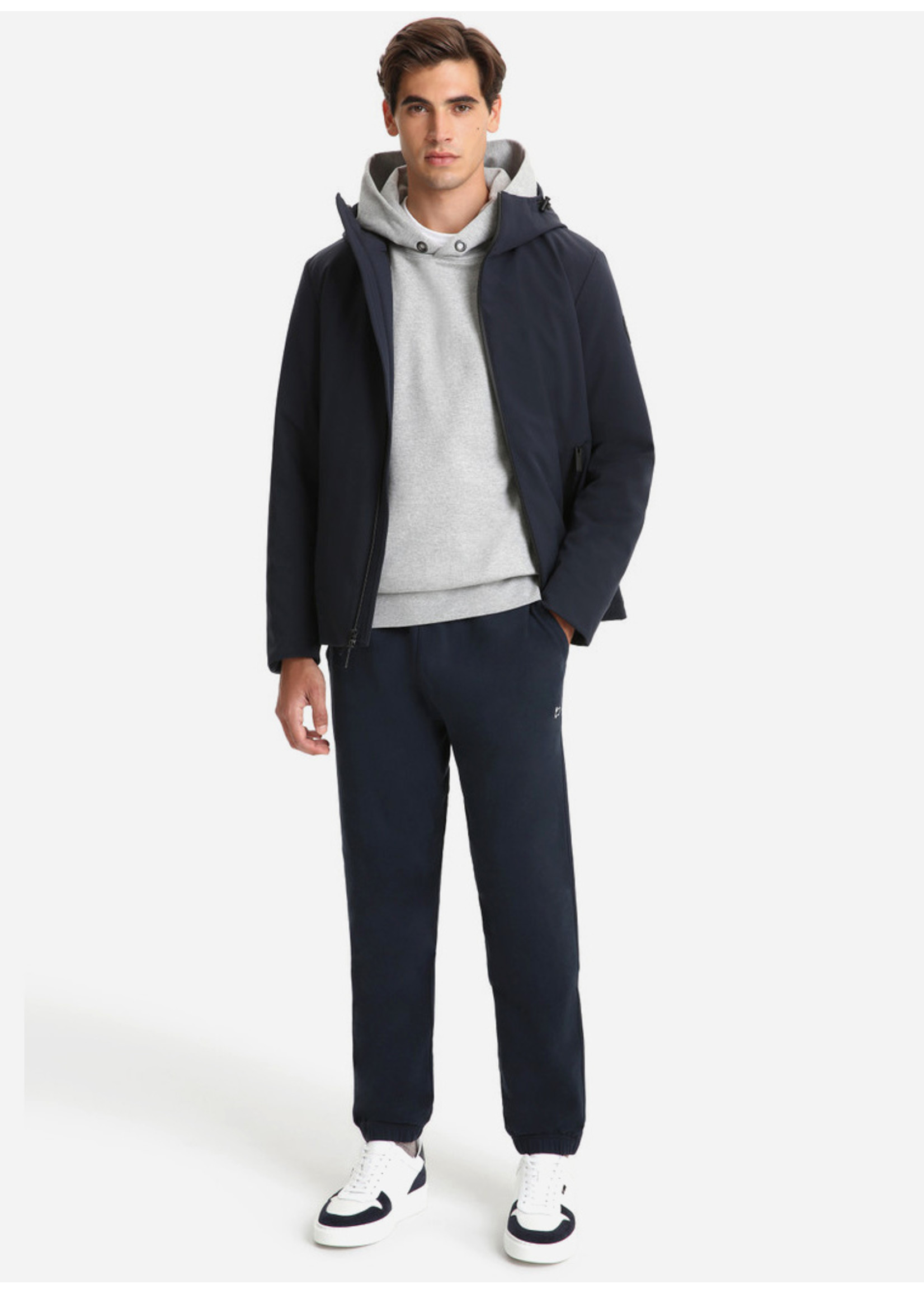 Woolrich Pacific Soft Shell Jacket Melton Blue