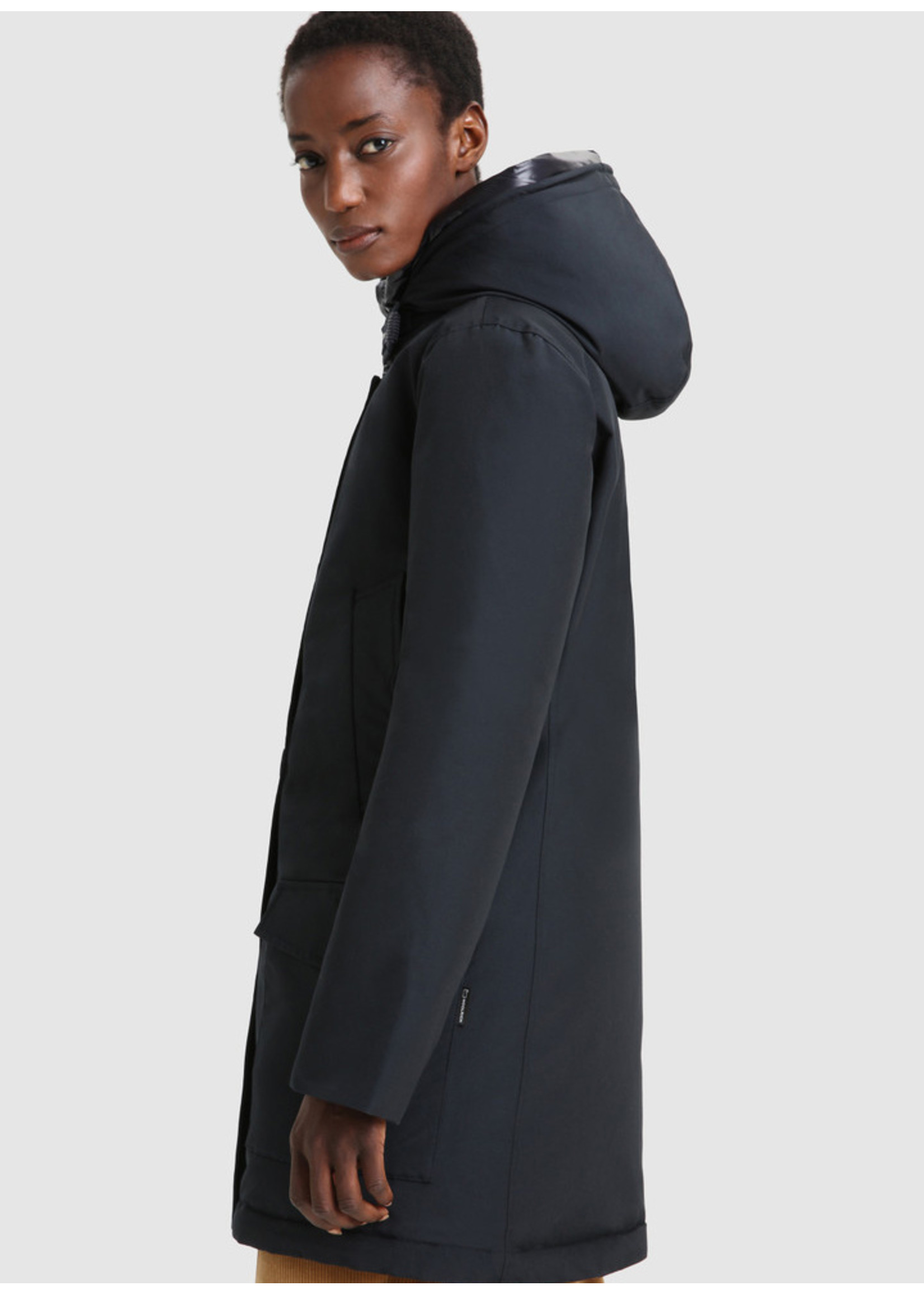 Woolrich Arctic High Collar Parka Dark Navy