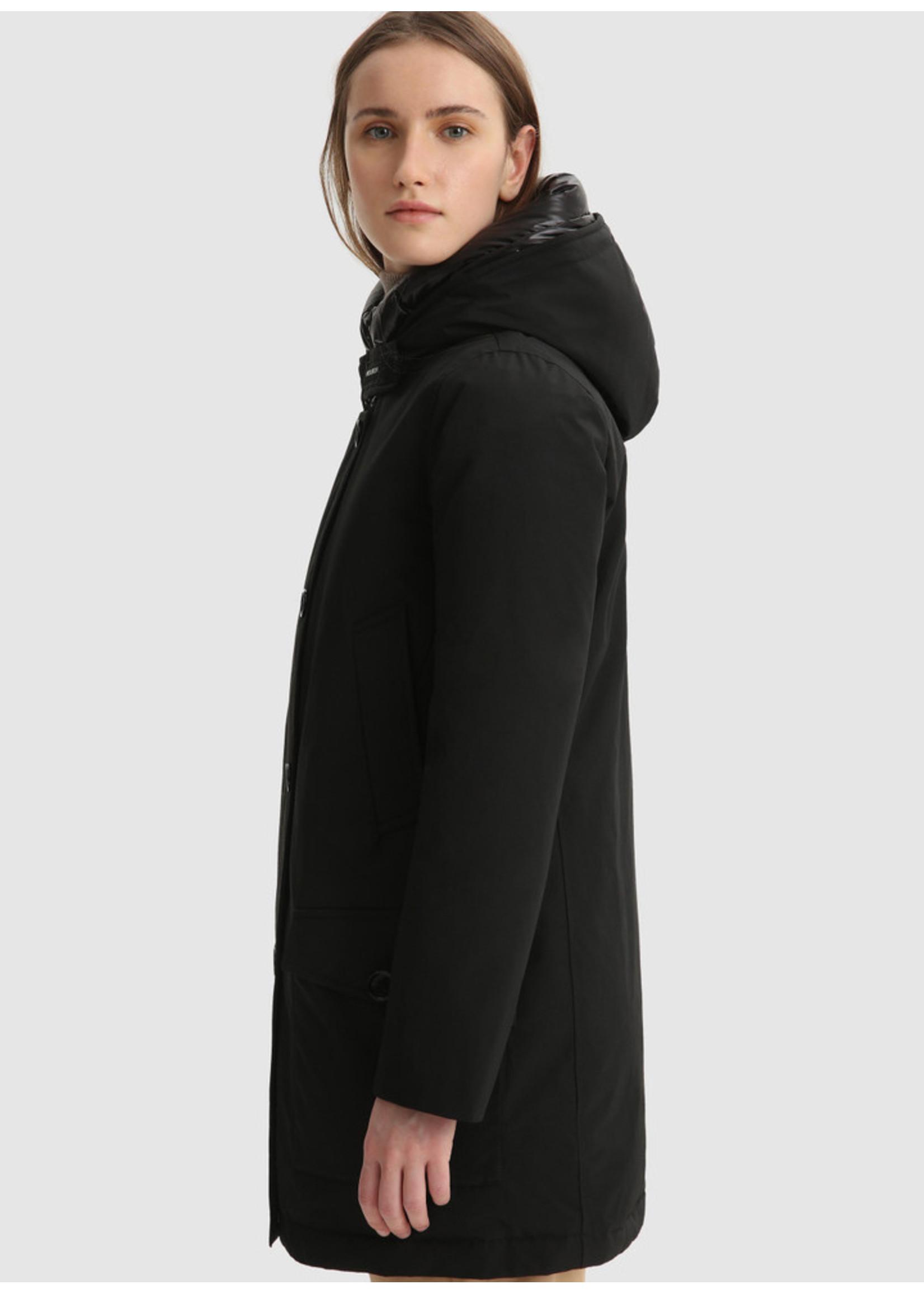 Woolrich Arctic High Collar Parka Black