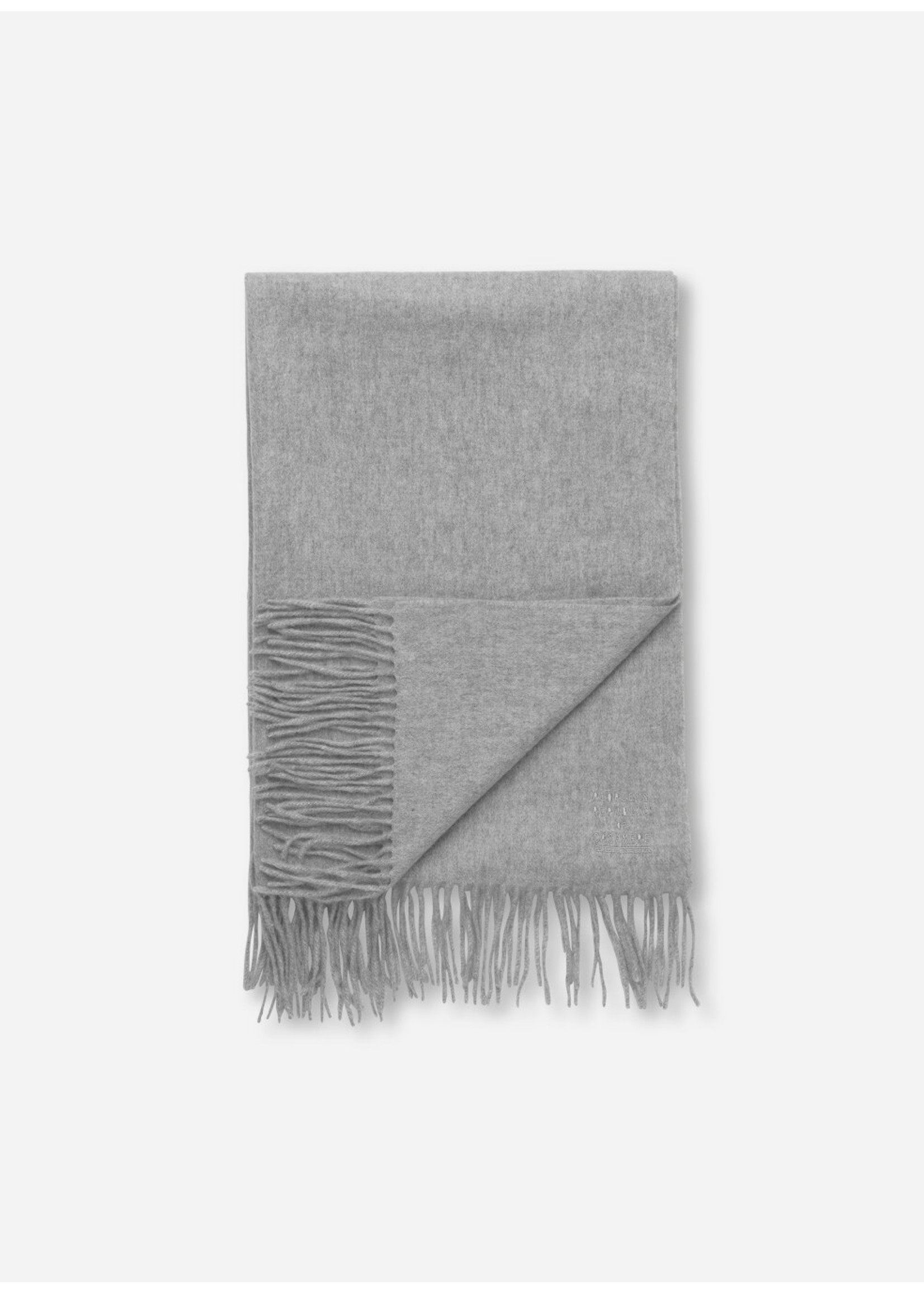 People's Republic of Cashmere Original Woven Scarf Ash Grey