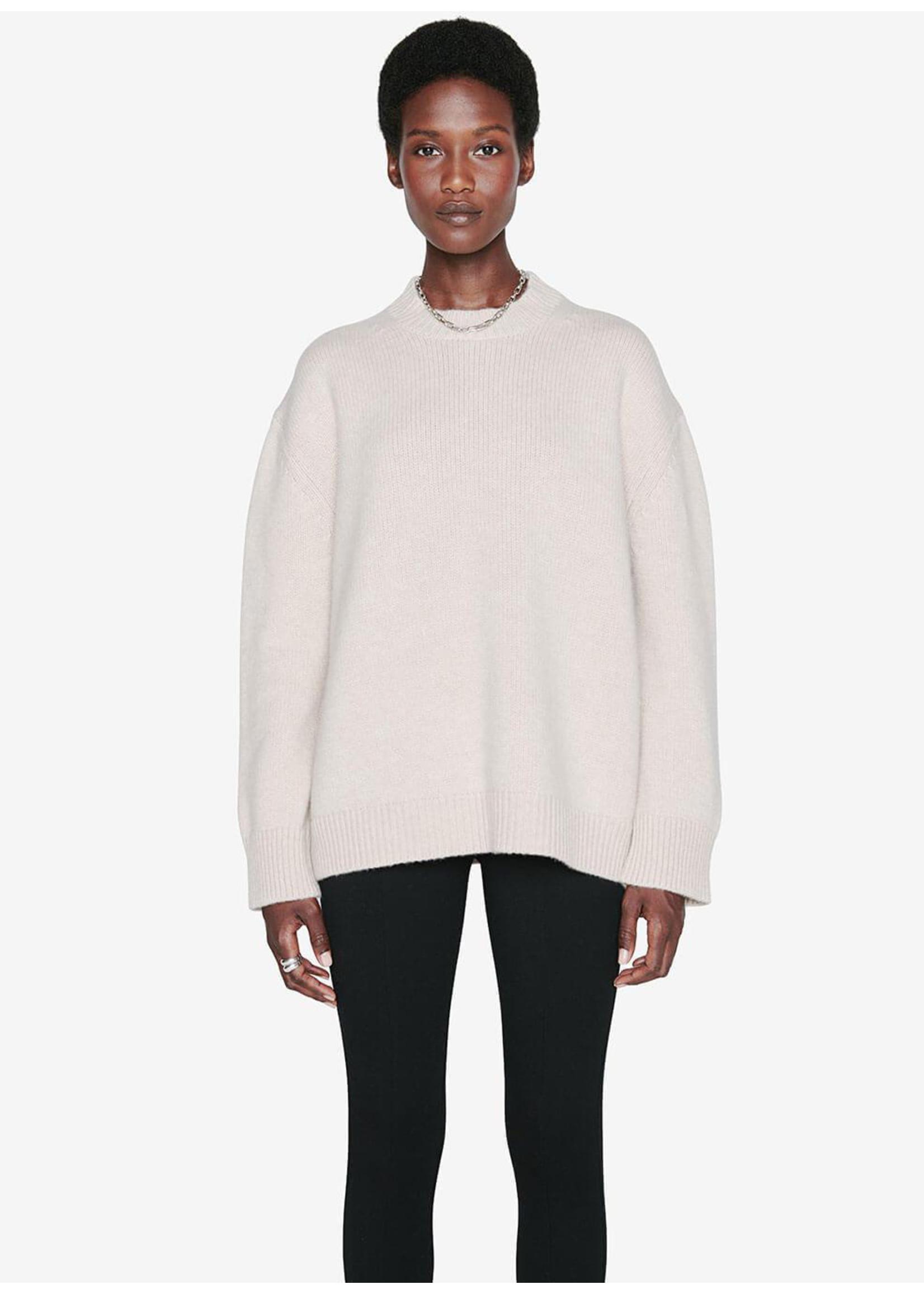 Anine Bing Rosie Sweater Oatmeal
