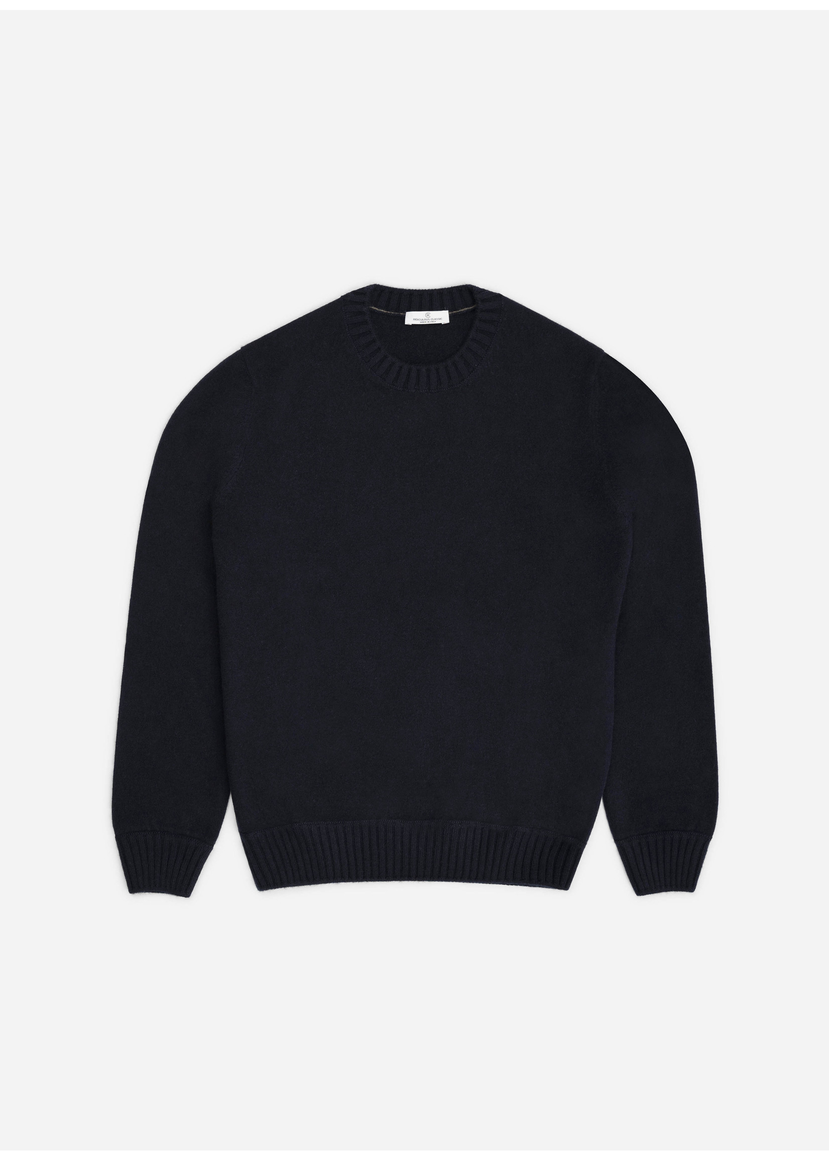 Ridiculous Classic Cashmere Pull Navy