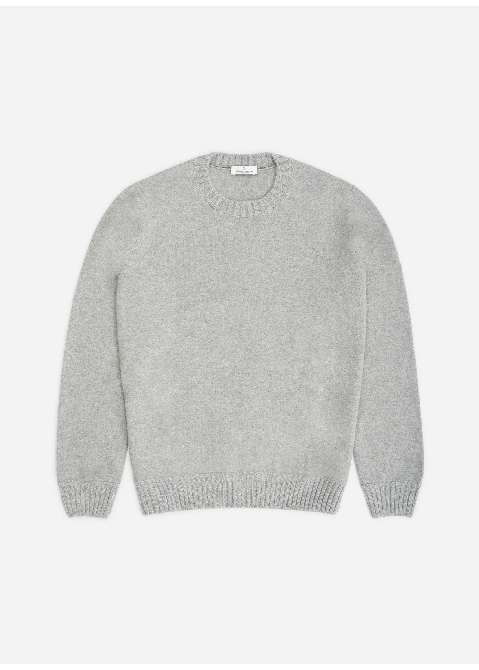 Ridiculous Classic Cashmere Pull Light Grey
