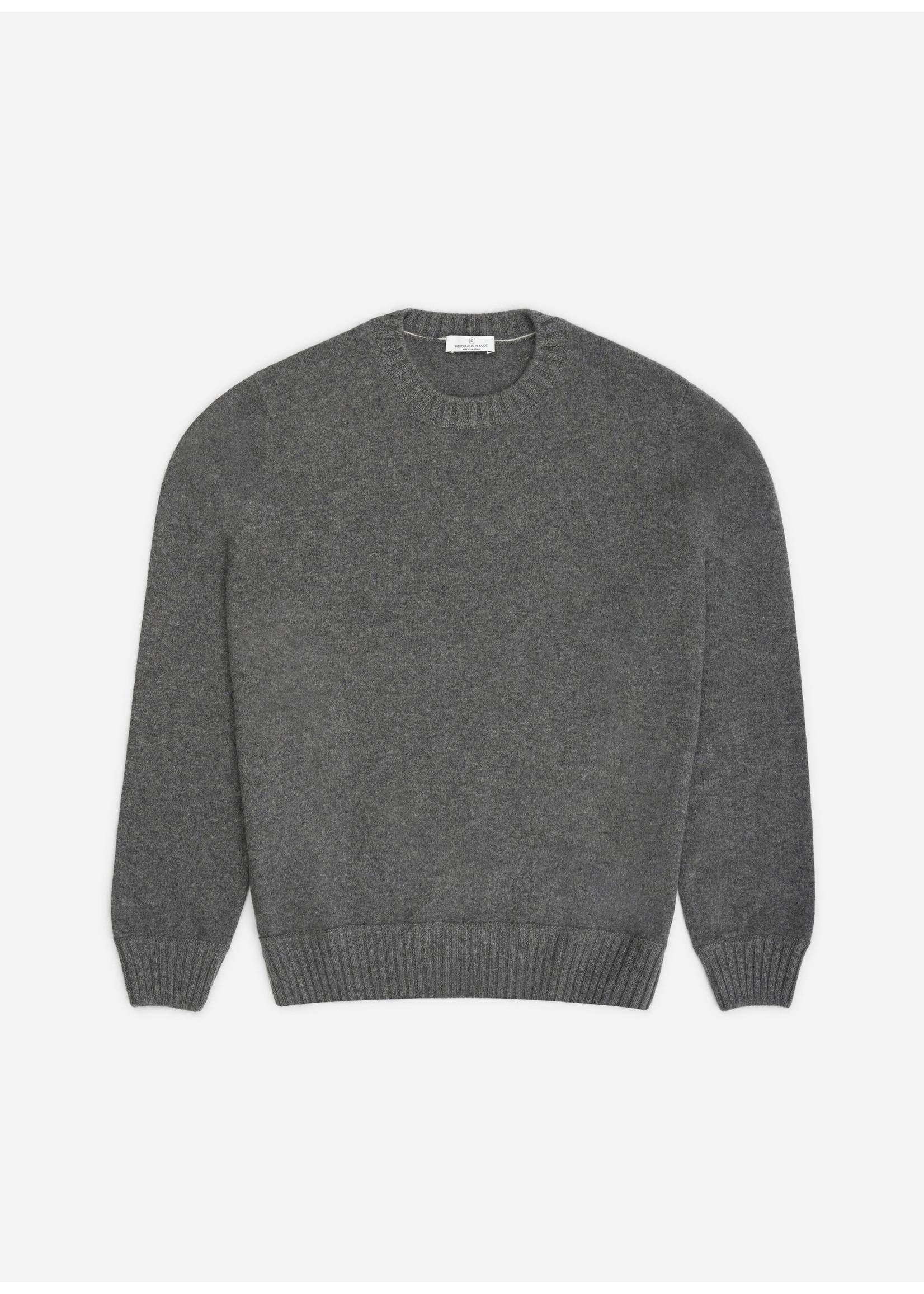Ridiculous Classic Cashmere Pull Dark Grey