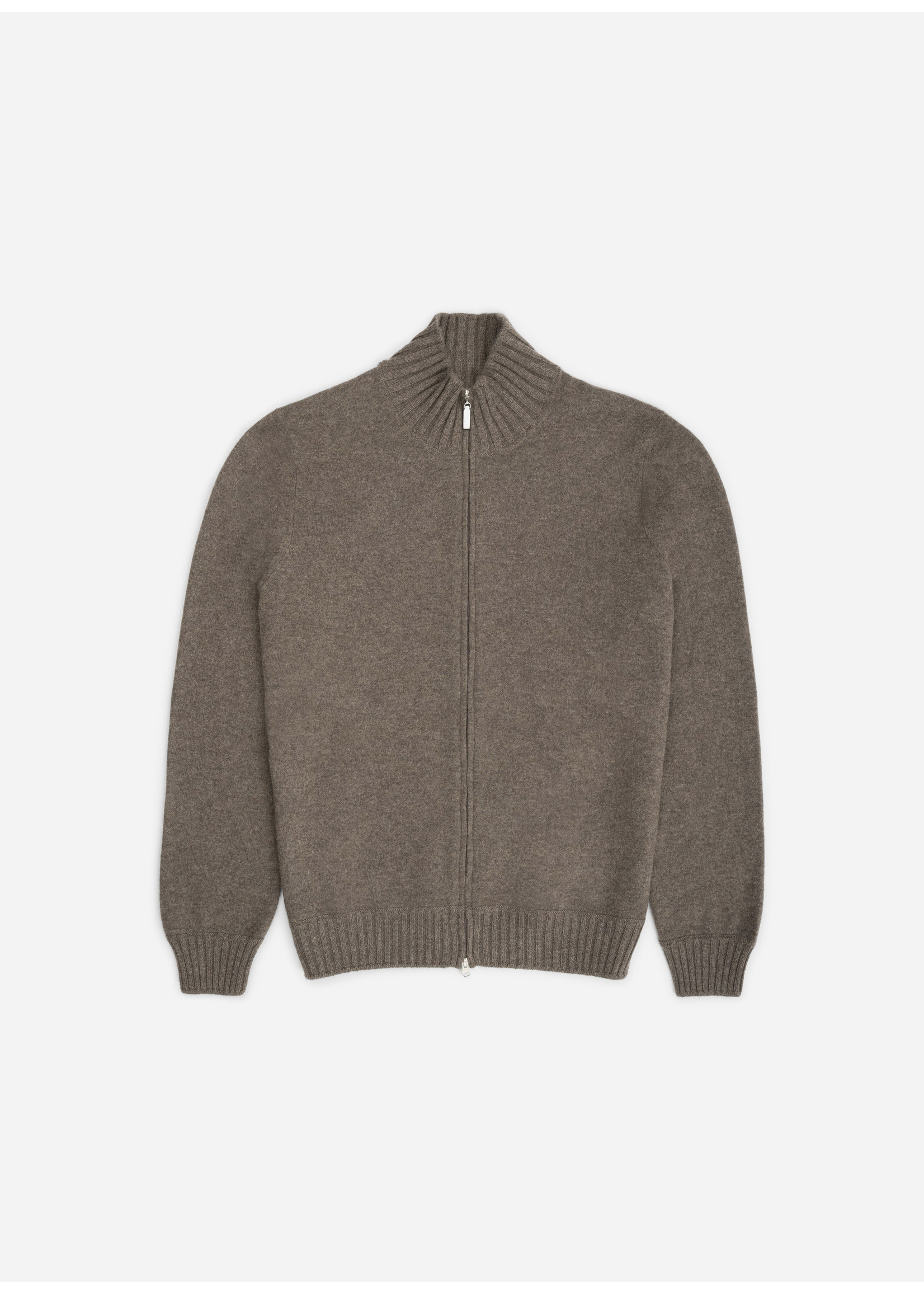 Ridiculous Classic Cashmere Zip Taupe