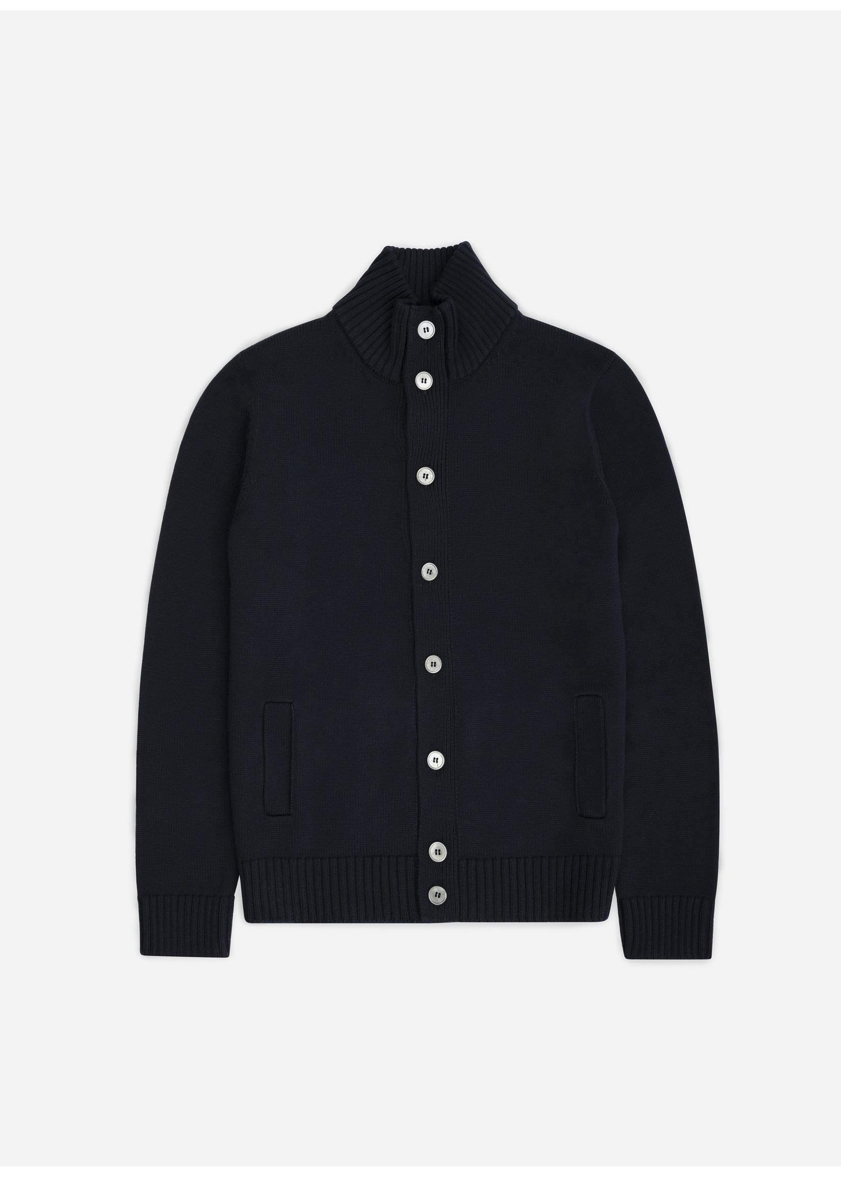 Ridiculous Classic Vest Button Navy