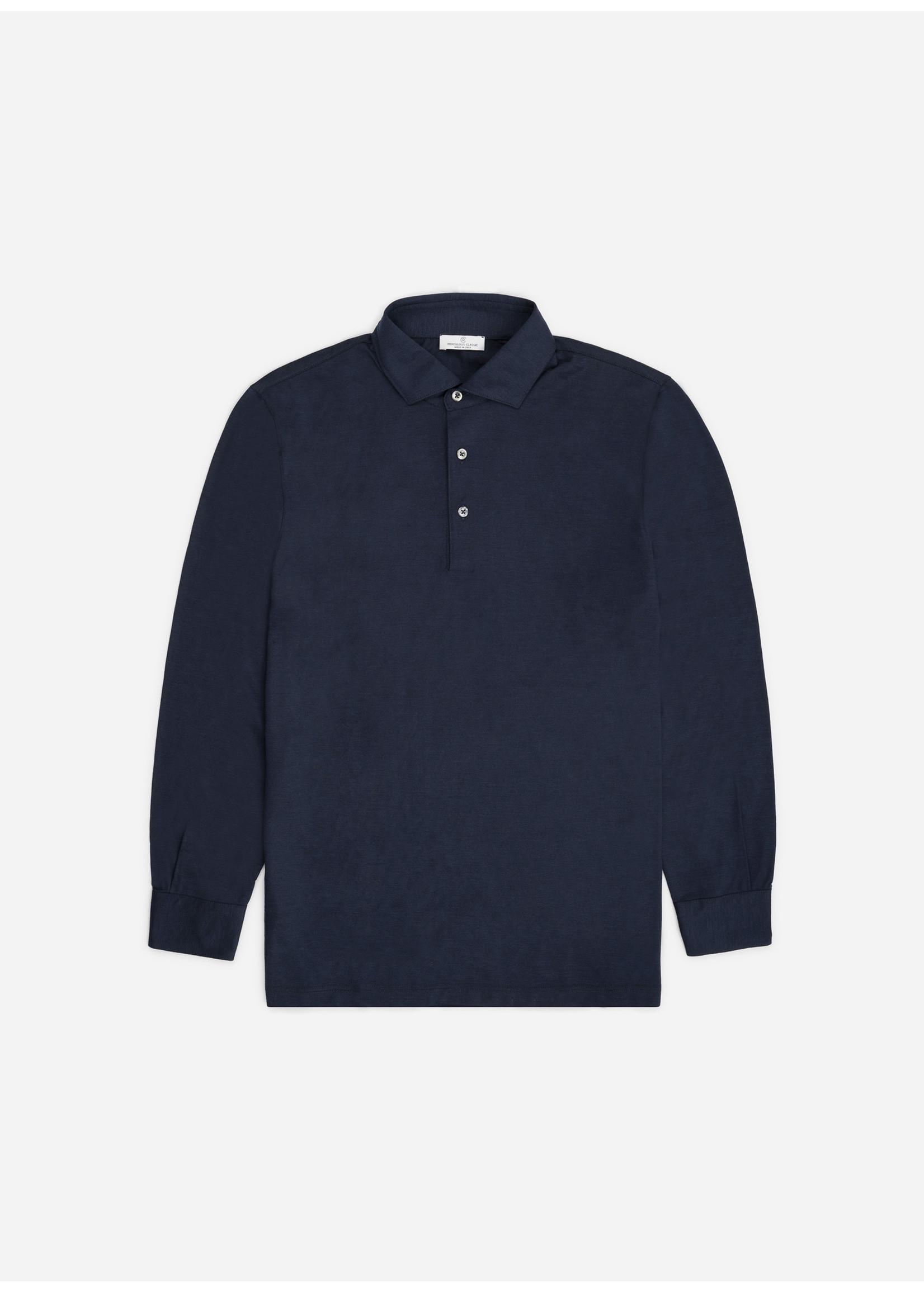 Ridiculous Classic Shirt Polo Long Sleeve Navy