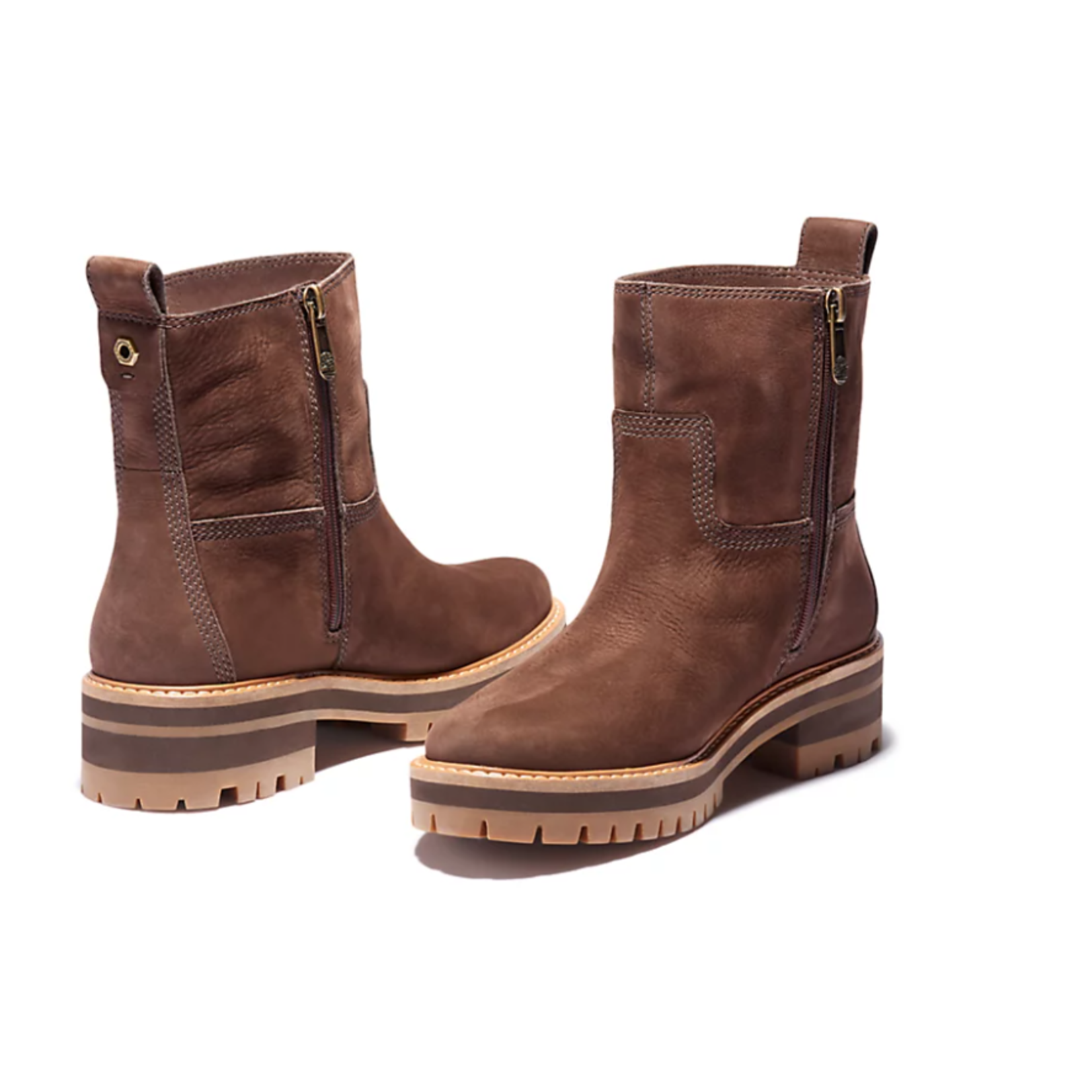 Timberland COURMAYEUR LINED BOOT FOR WOMEN IN DARK BROWN