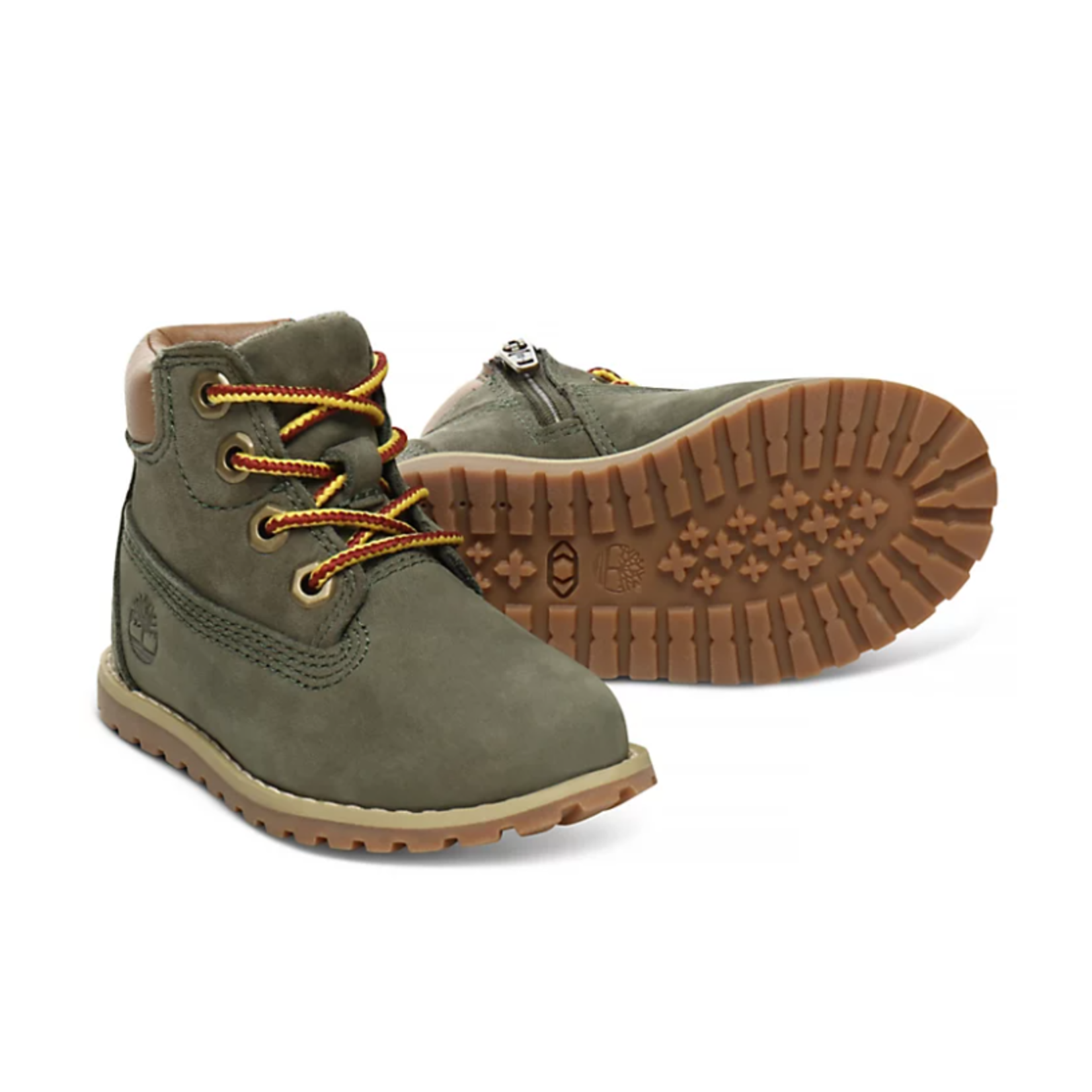 Timberland POKEY PINE 6 INCH BOOT FOR TODDLER IN GREEN