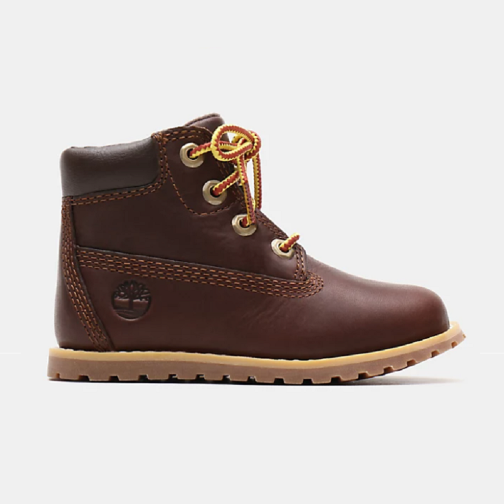 Timberland POKEY PINE 6 INCH BOOT FOR TODDLER IN BROWN